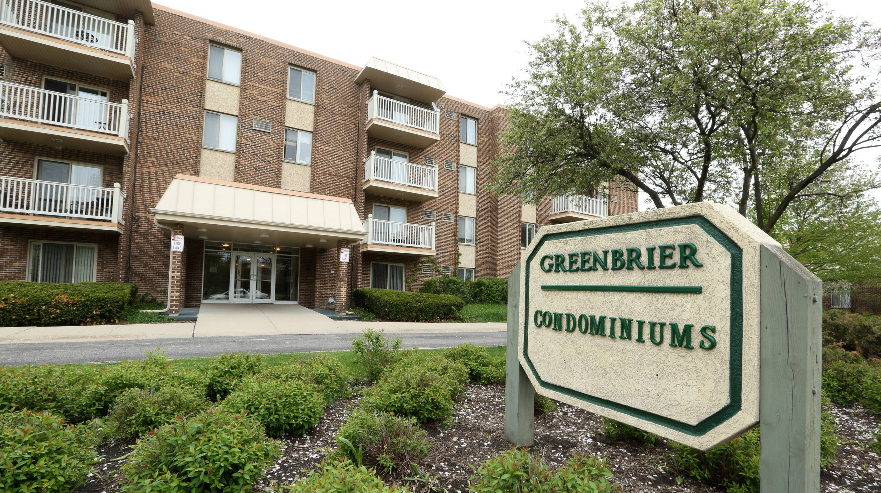 Greenbrier Condominiums are a part of the Greenwood Place neighborhood.