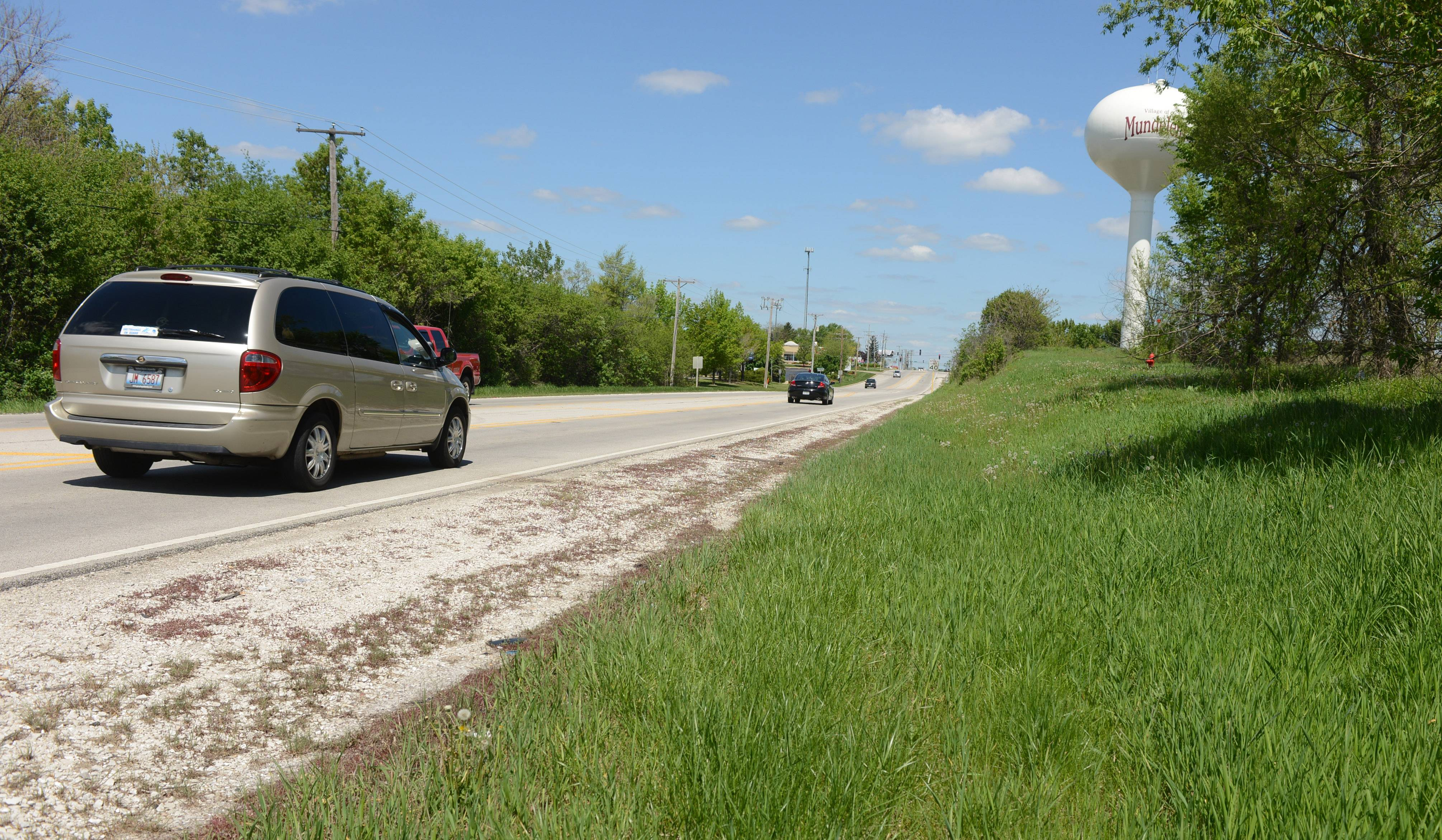 Carl H. Roderwald, 40, of Mundelein was found dead about 10 feet from the road in some tall grass along Route 83 near Route 176 in Mundelein.