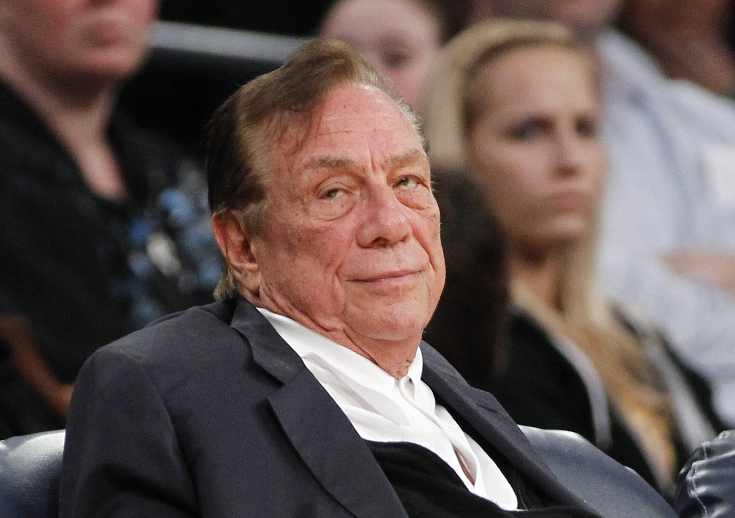 Donald Sterling has agreed to surrender his stake in the Los Angeles Clippers to his estranged wife, and she is moving ahead with selling the team, a person with knowledge of the negotiations told The Associated Press on Friday.