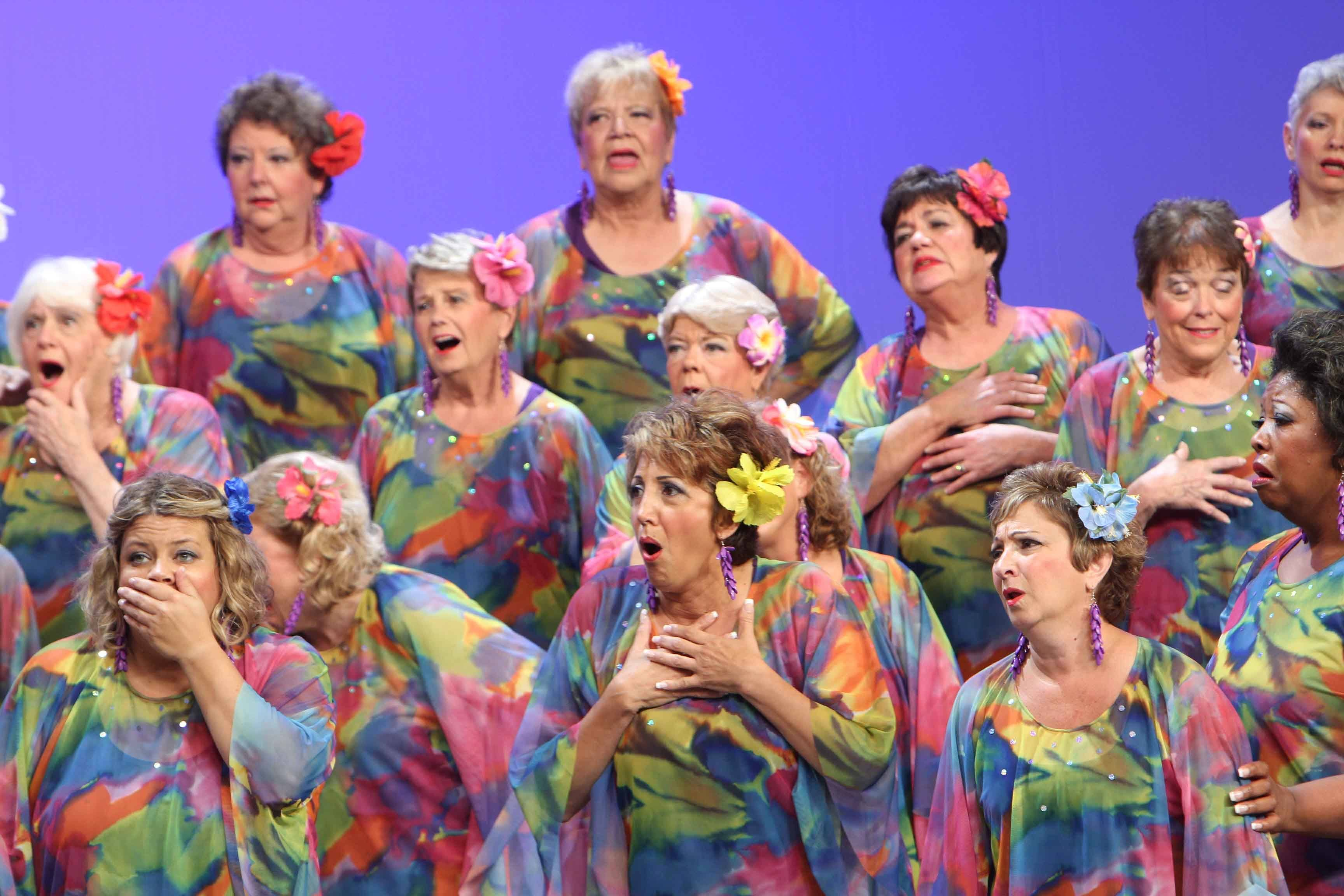 The Choral-Aires Chorus won the Midwest Harmony Region 3 Championship last weekend and now prepare for the Sweet Adelines International contest in Las Vegas.