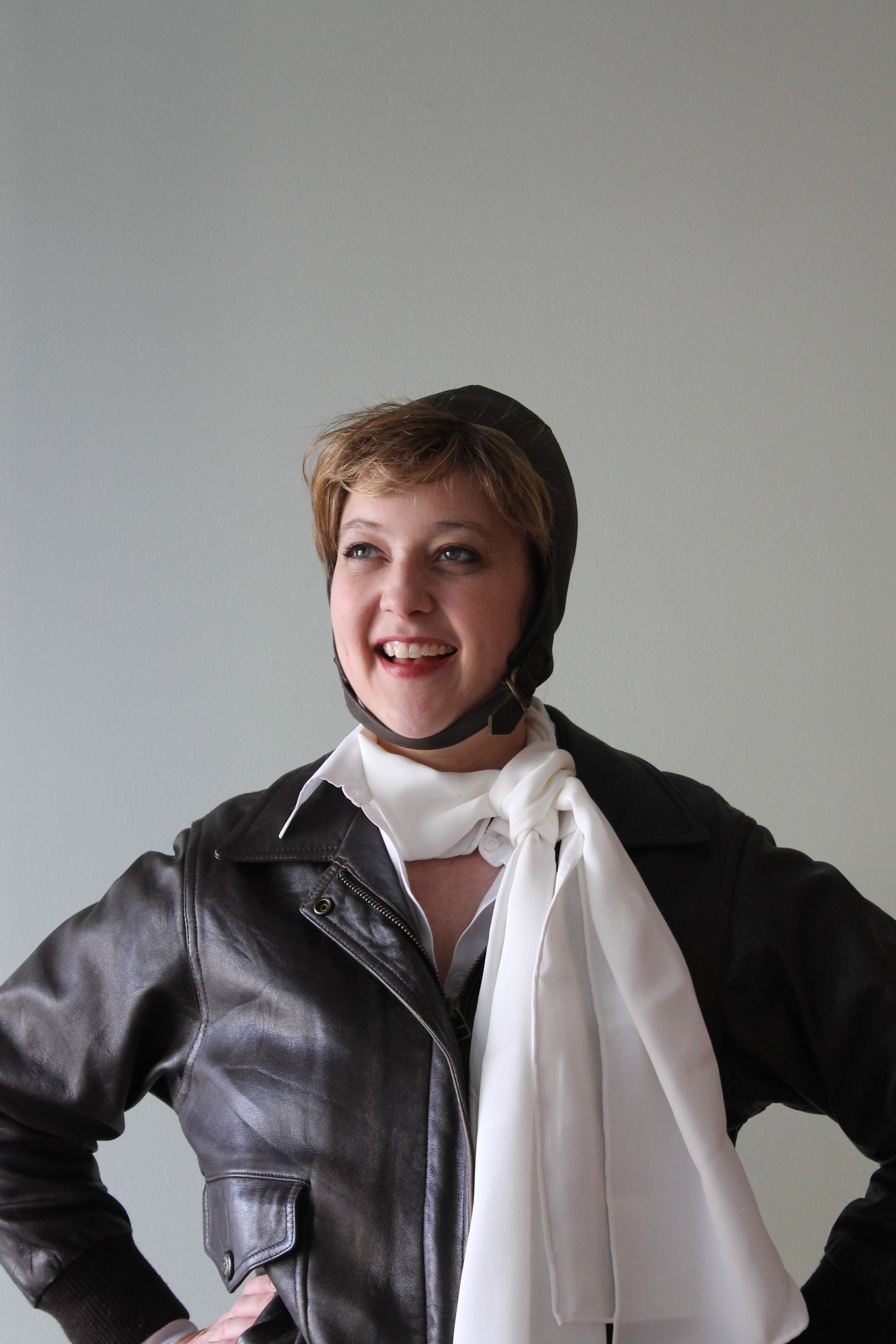 "Historian and actress Leslie Goddard will present ""Never Lost: Amelia Earhart Before the Legend"" at the St. Charles Public Library."