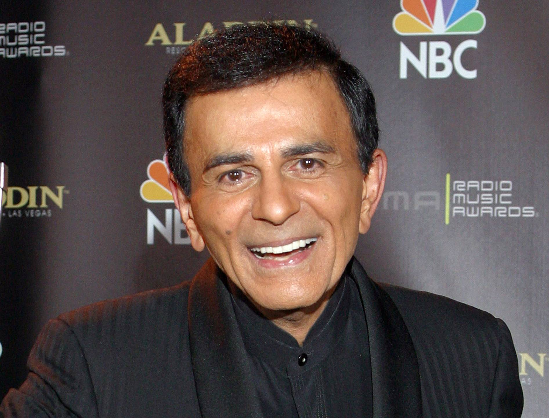In this file photo, Casey Kasem poses for photographers after receiving the Radio Icon award during The 2003 Radio Music Awards at the Aladdin Resort and Casino in Las Vegas. A judge has expanded the powers of Casey Kasem's daughter to determine whether her father is receiving adequate medical care and says he still has concerns about the ailing radio personality's health and welfare. On May 20, Los Angeles Superior Court Judge Daniel Murphy ordered Kasem's wife to comply with court orders allowing doctors to evaluate her husband, and also be seen by his daughter Kerri.