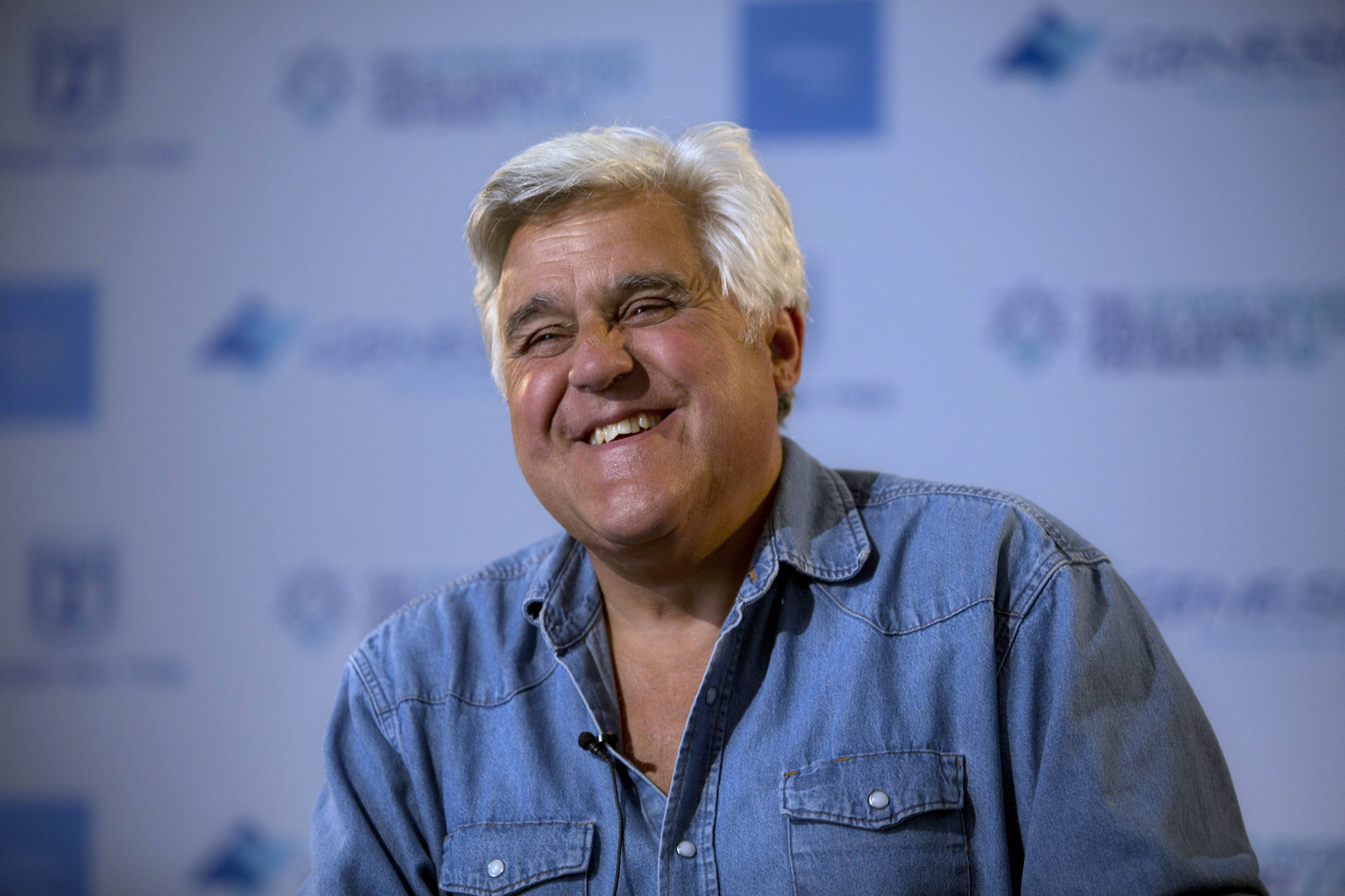 "Comedian Jay Leno said he feels ""liberated"" to travel and invest more in his standup routines now that he's not on TV anymore."