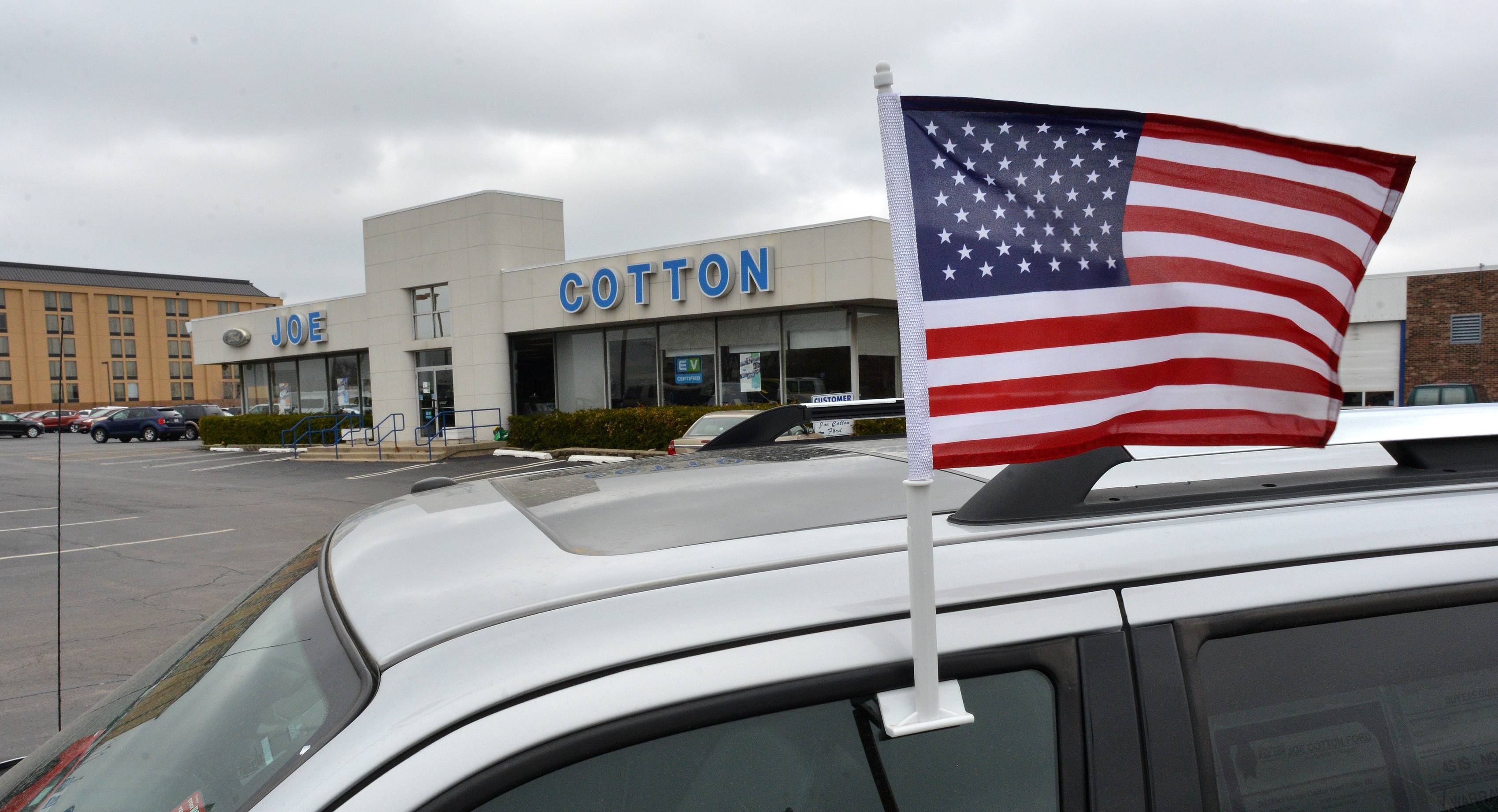 Joe Cotton Ford in Carol Stream.