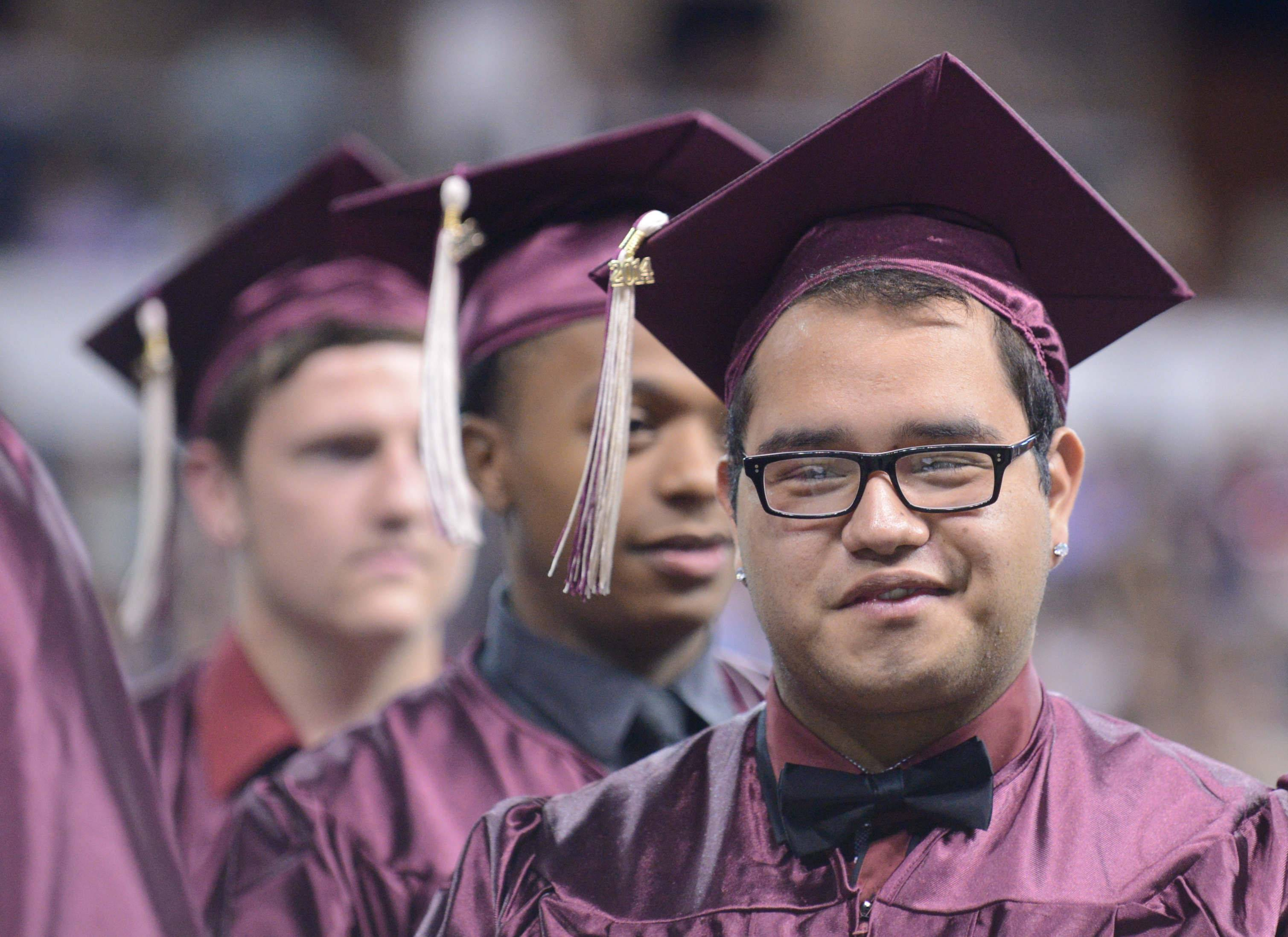 Images from the Elgin High School graduation Saturday, May 23rd at the Sears Centre in Hoffman Estates.