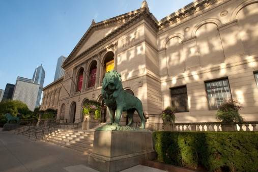 The Chicago Art Instiute is among more than 2,000 museums nationwide offering free admittance to military personnel and their families. Click on the Blue Starr link in the story for a complete list.