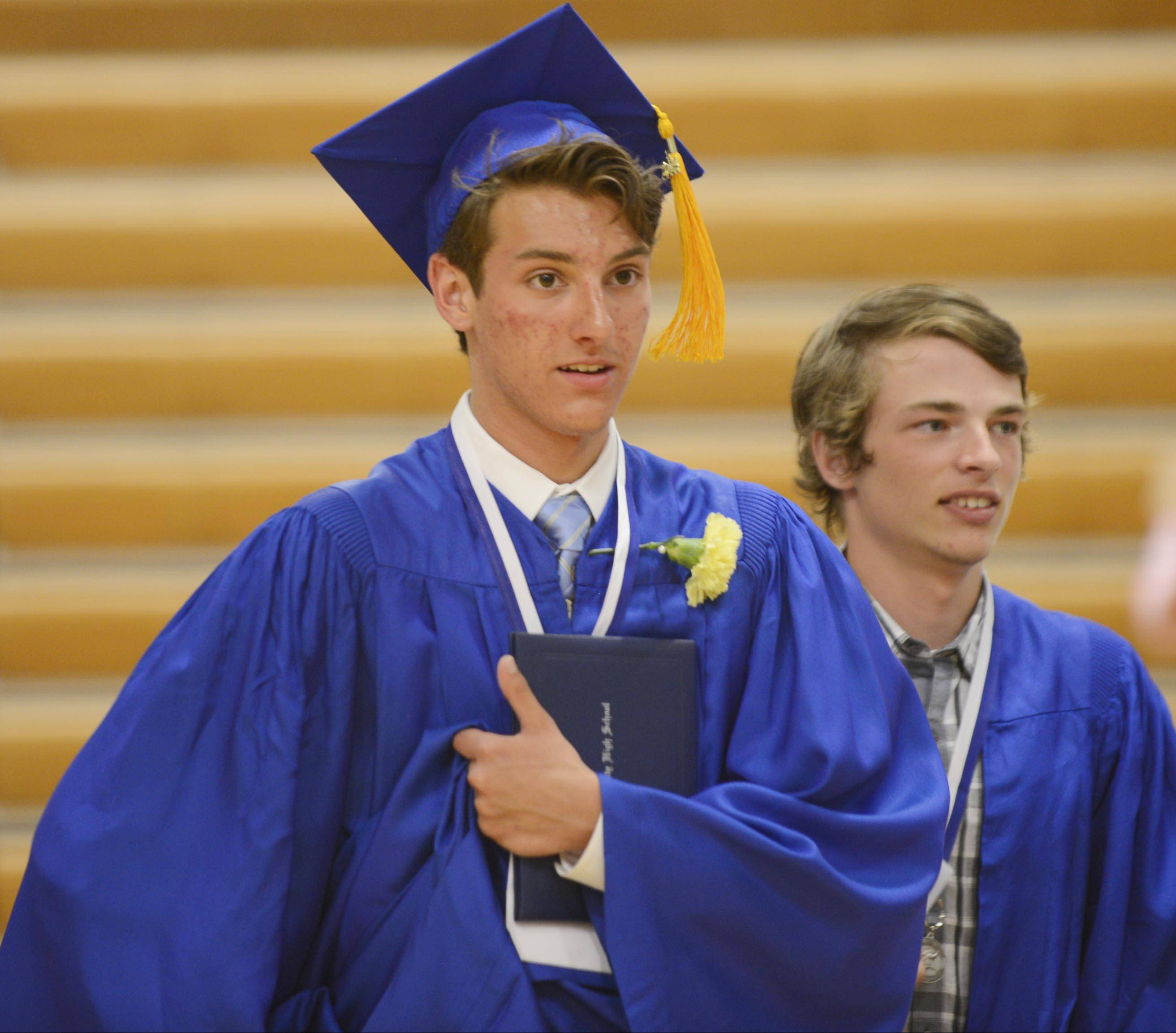 Geneva High School held its graduation Sunday, May 25 in Geneva.