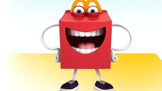 A new McDonald's Corp. character named Happy was intended to promote healthier Happy Meals for kids but has raised some concerns on social media.