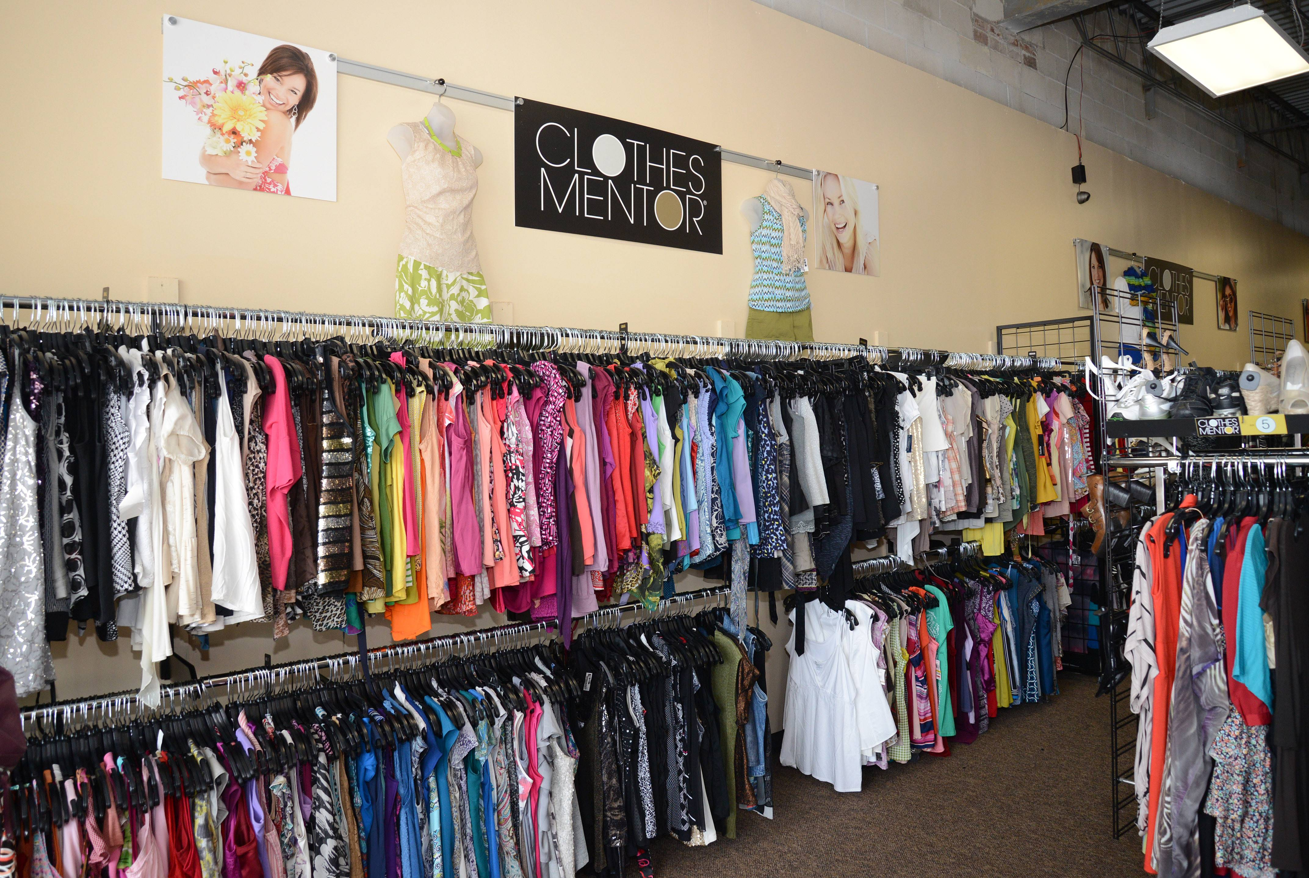 Captivating At Clothes Mentor, The Clothing And Accessories Are Sorted And Sold By  Sizes And Colors