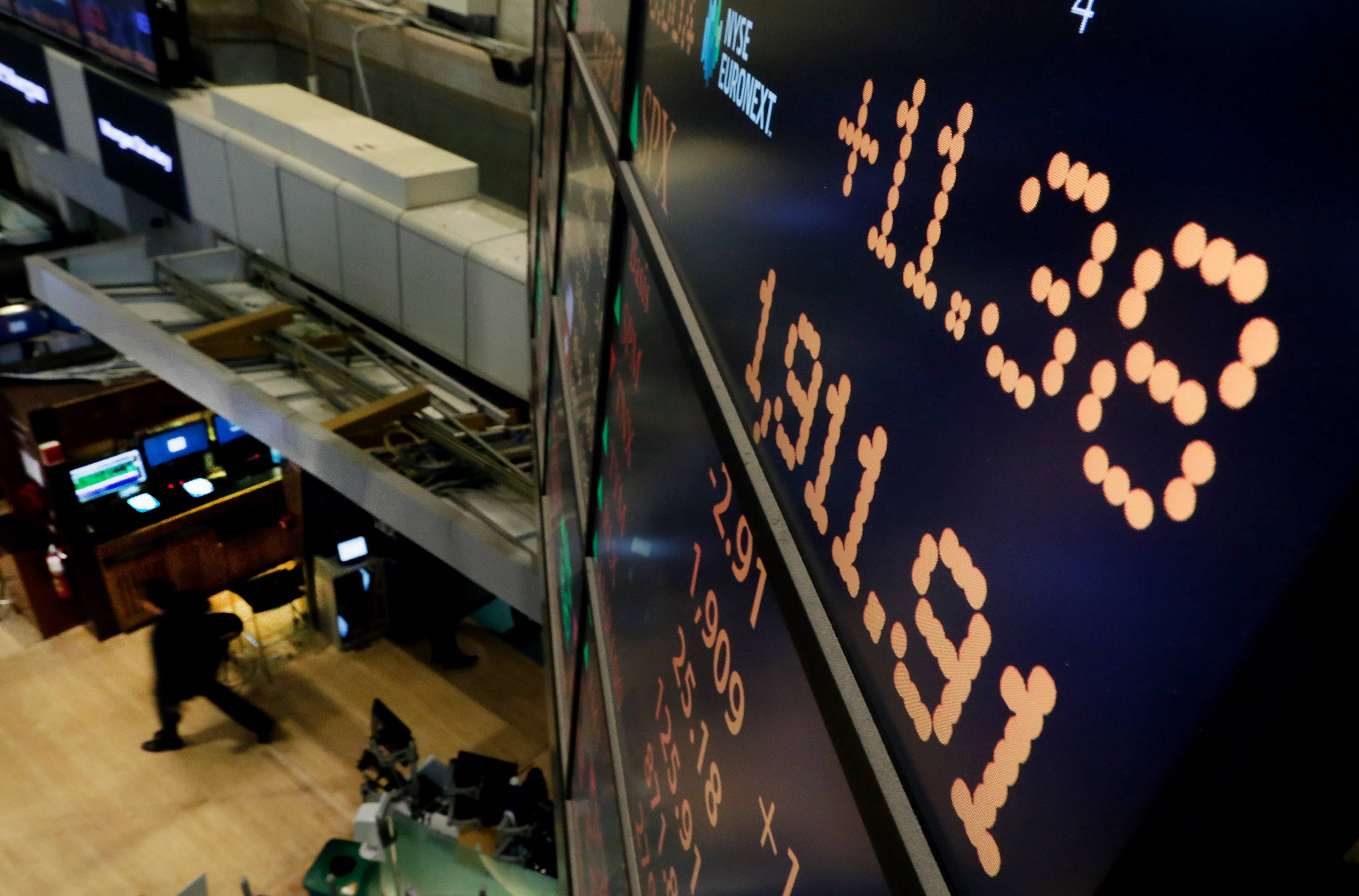 More promising signs the economy is strengthening after its winter slowdown pushed stocks higher on Tuesday. The Standard & Poor's 500 index rose for the fourth straight day and ended at another all-time high, 1,911.