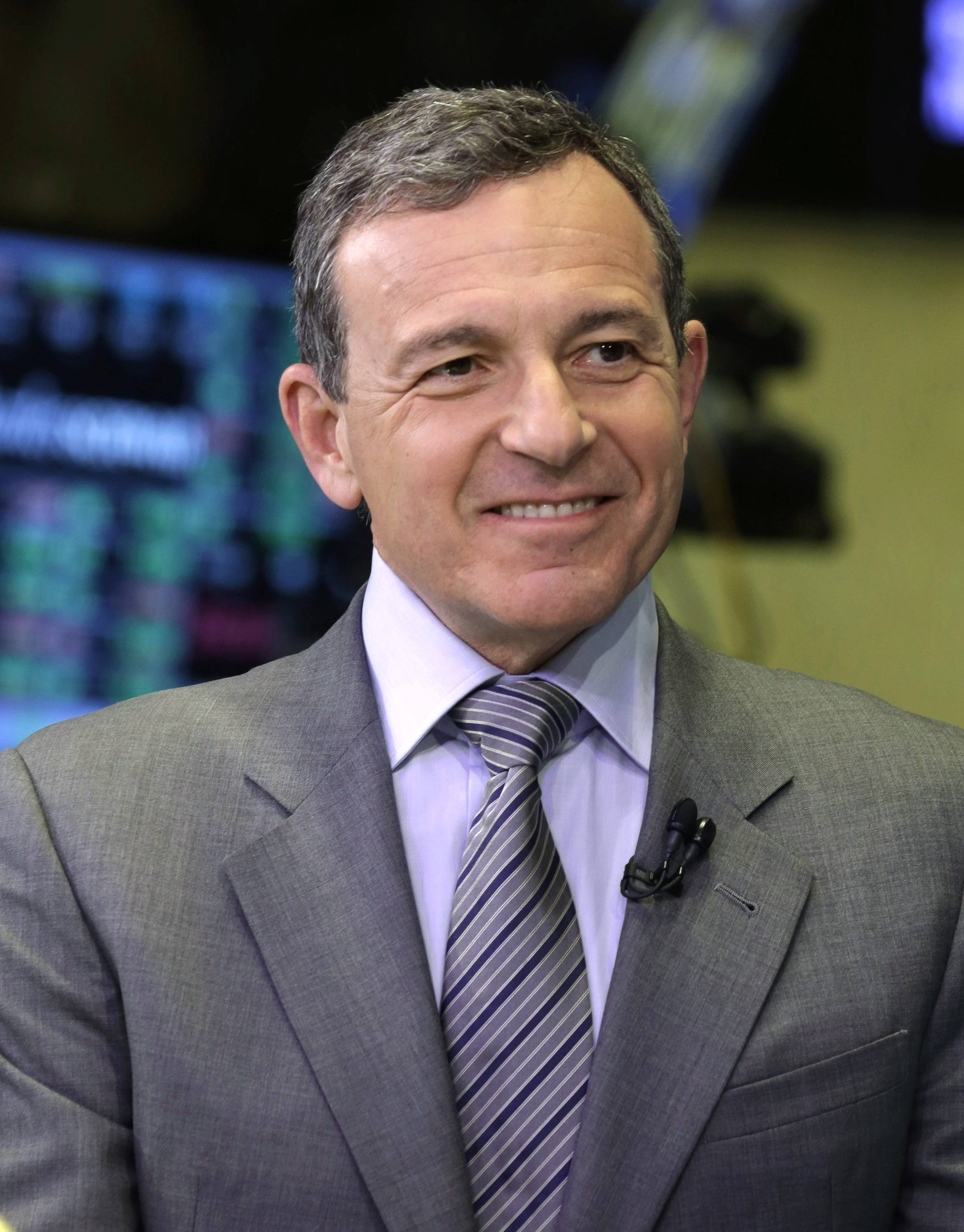 7.Bob Iger, chairman and CEO of The Walt Disney Company.