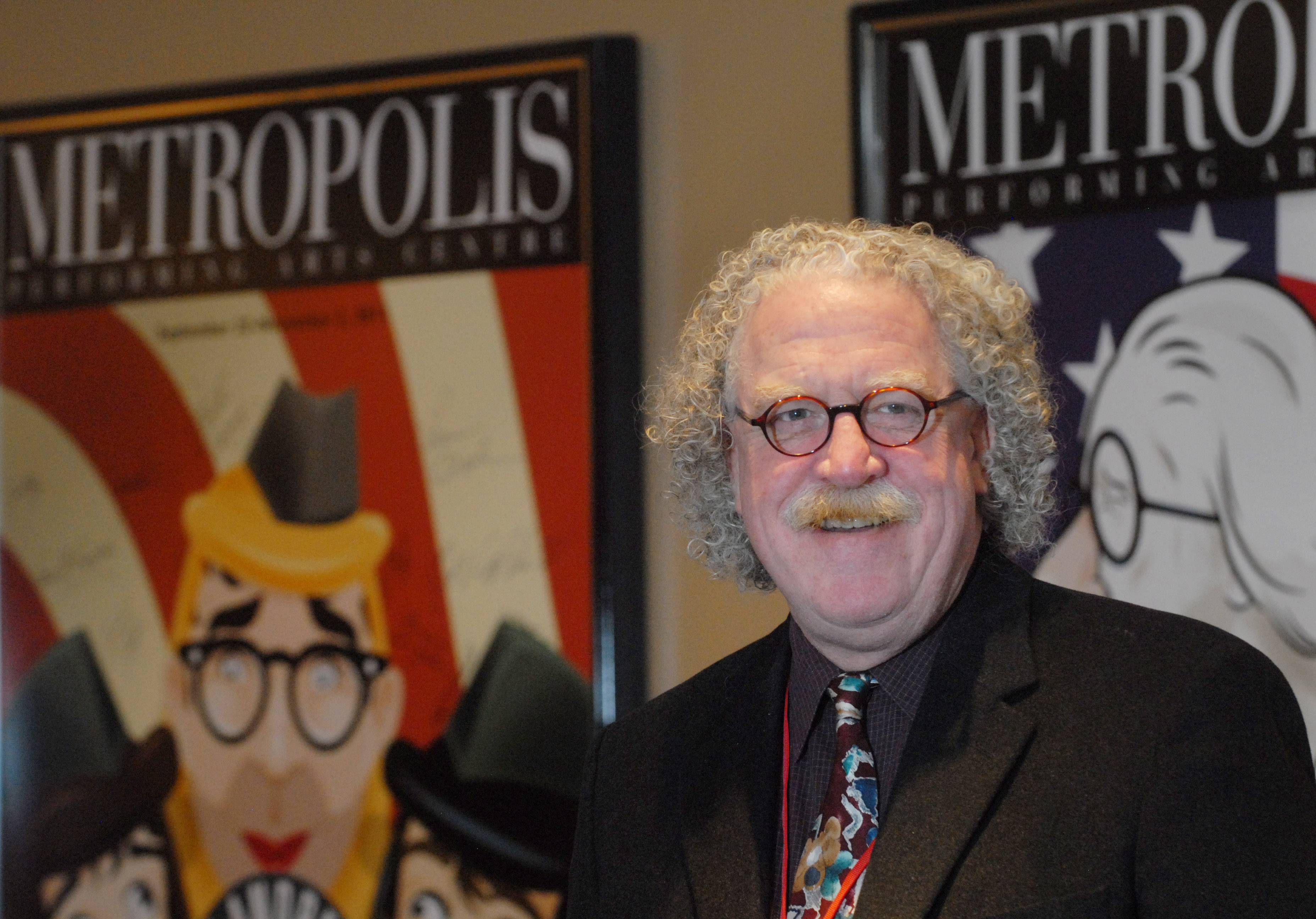 A permanent replacement is being sought for Charlie Beck, who served as executive director of the Metropolis Performing Arts Centre in Arlington Heights for 2½ years.