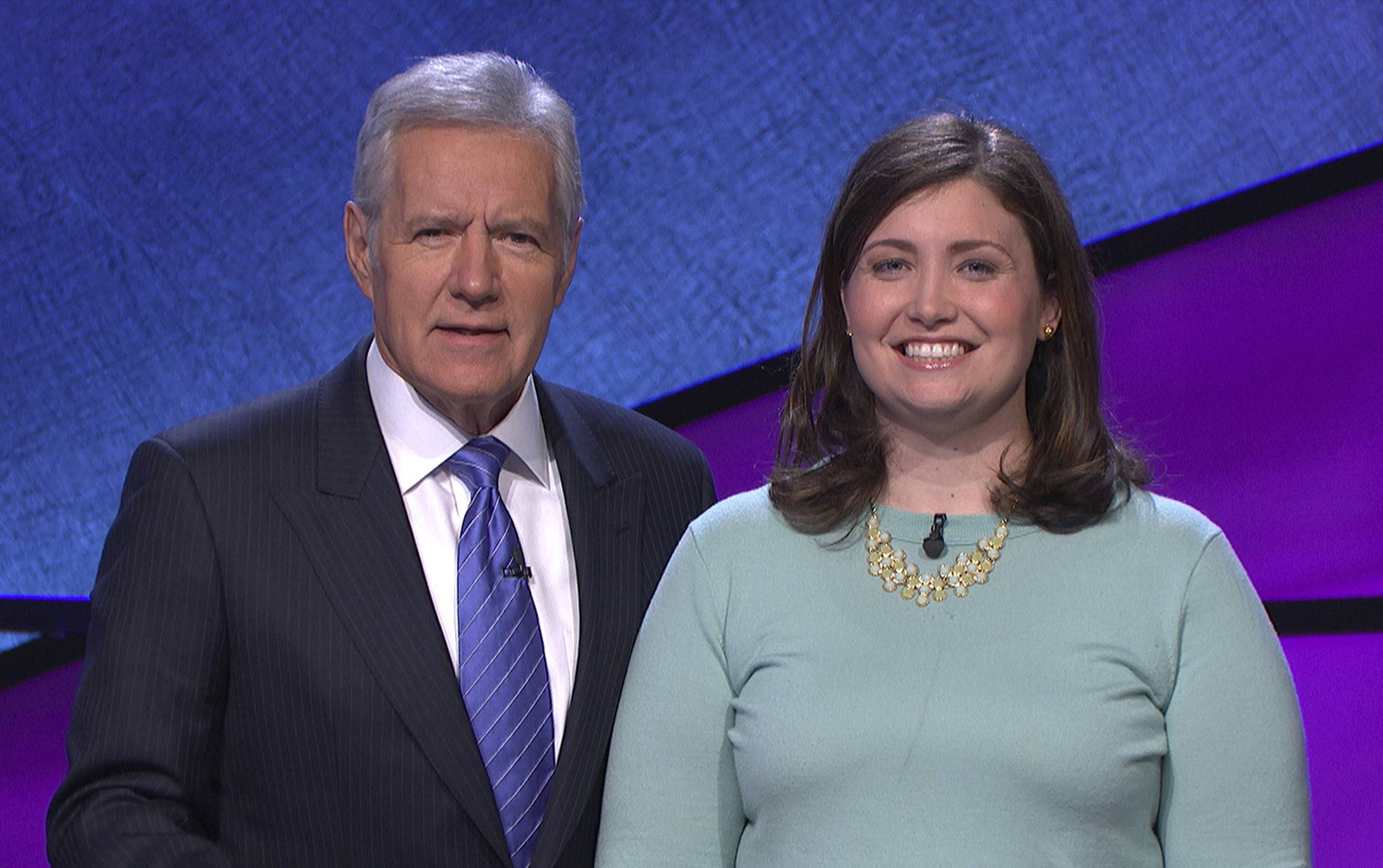 "North Shore native Julia Collins of Wilmette won her 18th straight game on ""Jeopardy!"" She'll try for a 19th win on Thursday. ""Jeopardy!"" airs locally at 2:30 p.m. on ABC 7."