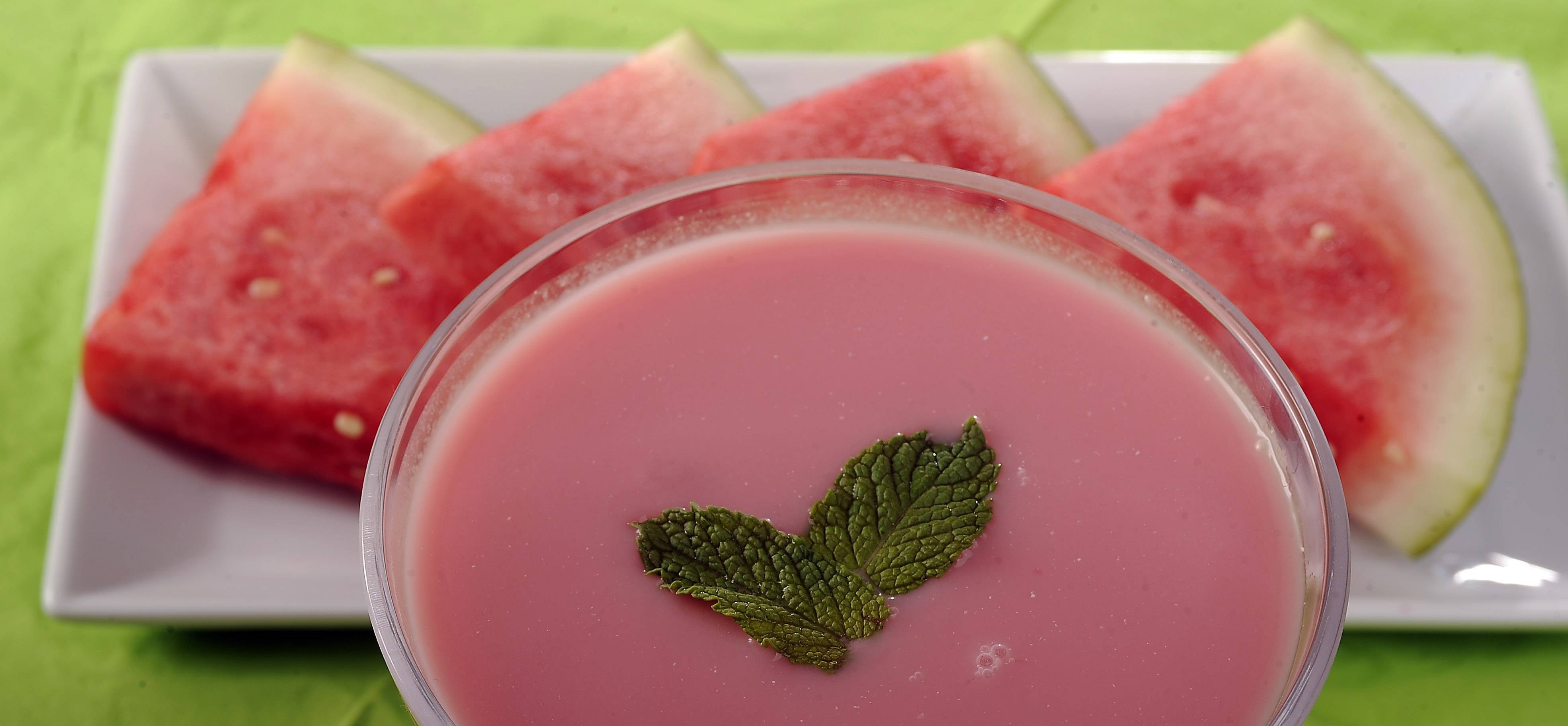 Chilled Watermelon Soup is a refreshing starter for summer meals.