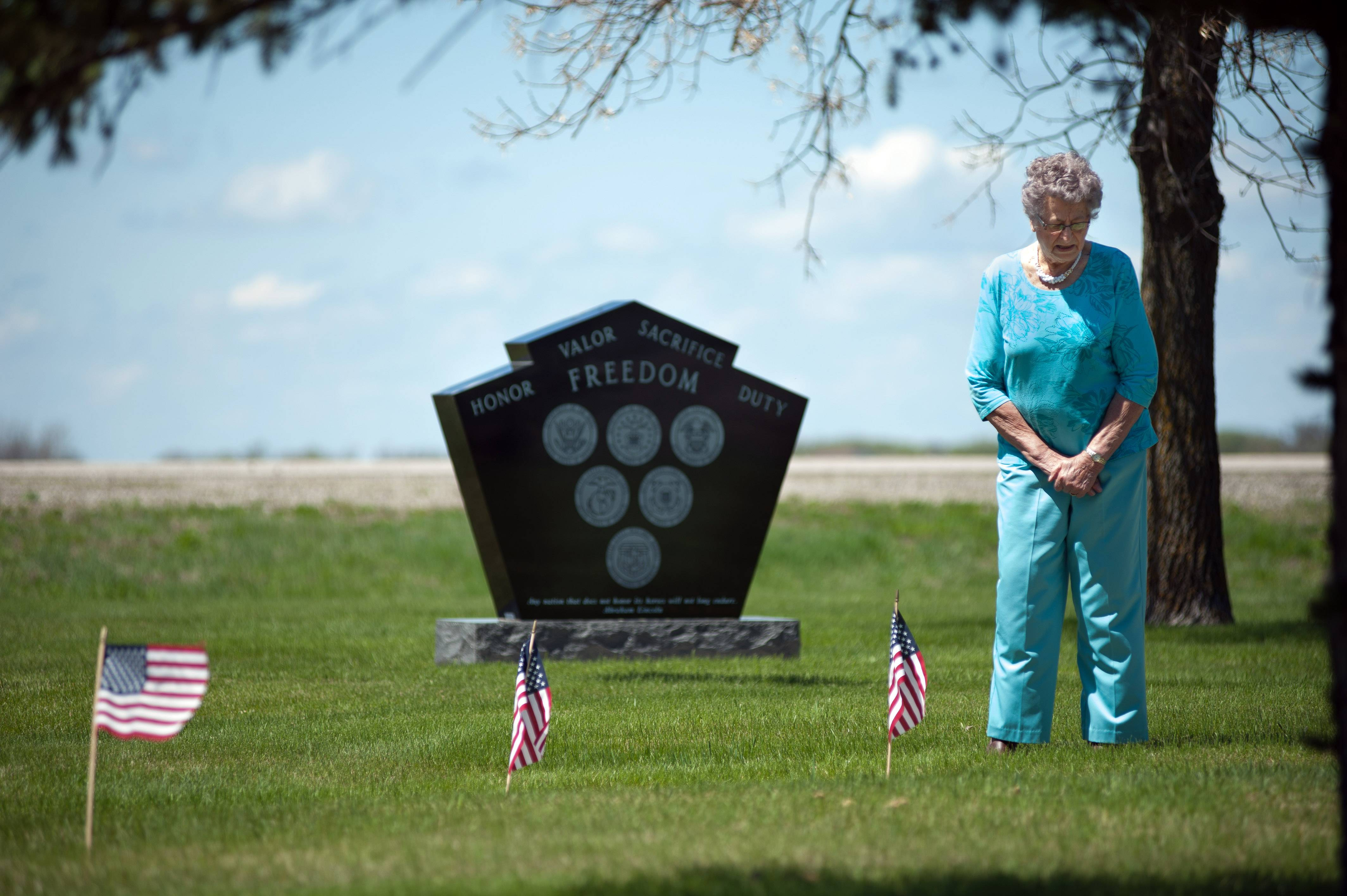 Lillian Johnson has buried her husband and other family members in a tiny southeastern North Dakota cemetery that would be threatened by a flood protection project meant to save the state's largest city.