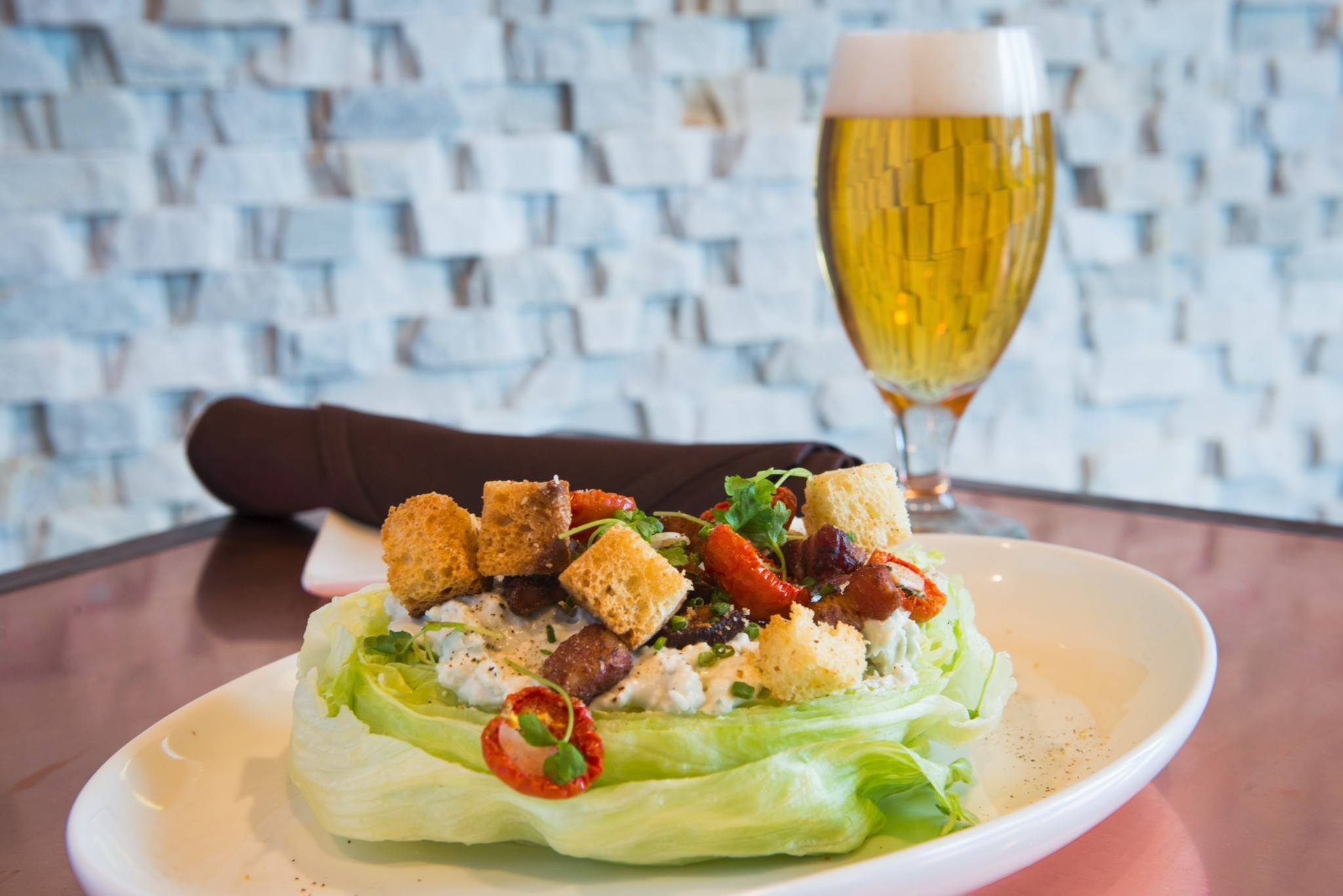 The Wedge is one of several new salads at Old Town POur House in Oak Brook.