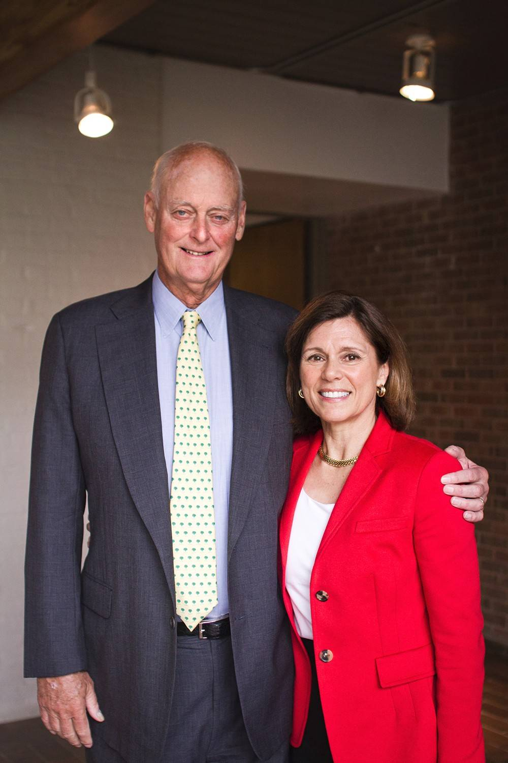 Woodlands Academy of the Sacred Heart in Lake Forest announced Wednesday that alumna Susan Brennan Morrison and her husband, Bob, provided a $1 million endowment gift to the Catholic college preparatory high school for young women.
