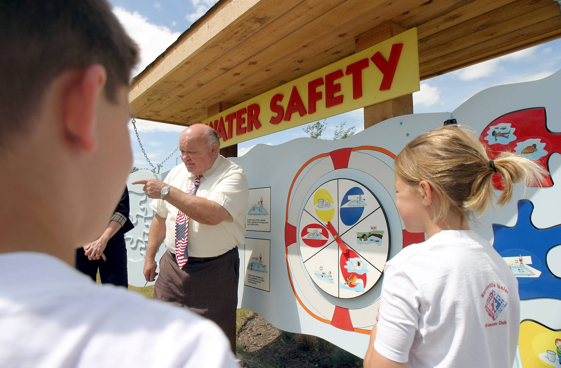 Creating a permanent location for Safety Town in Naperville is longtime Mayor George Pradel's proudest accomplishment from his years as a police officer and elected leader in the city. Pradel is being honored for his service Friday with the Naperville Area Chamber of Commerce's Lifetime Achievement Award.