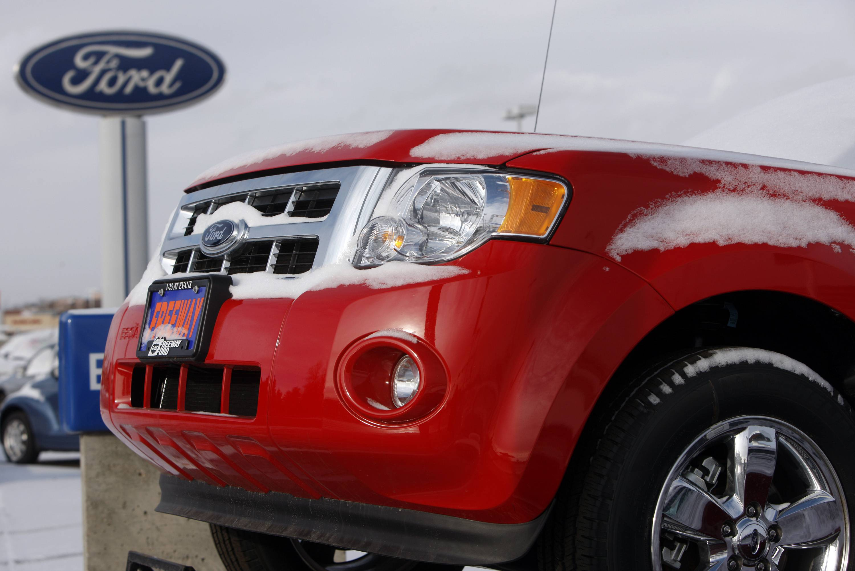 Ford issued two recalls, one affecting 915,000 Ford Escape vehicles from the model years 2008 through 2011.