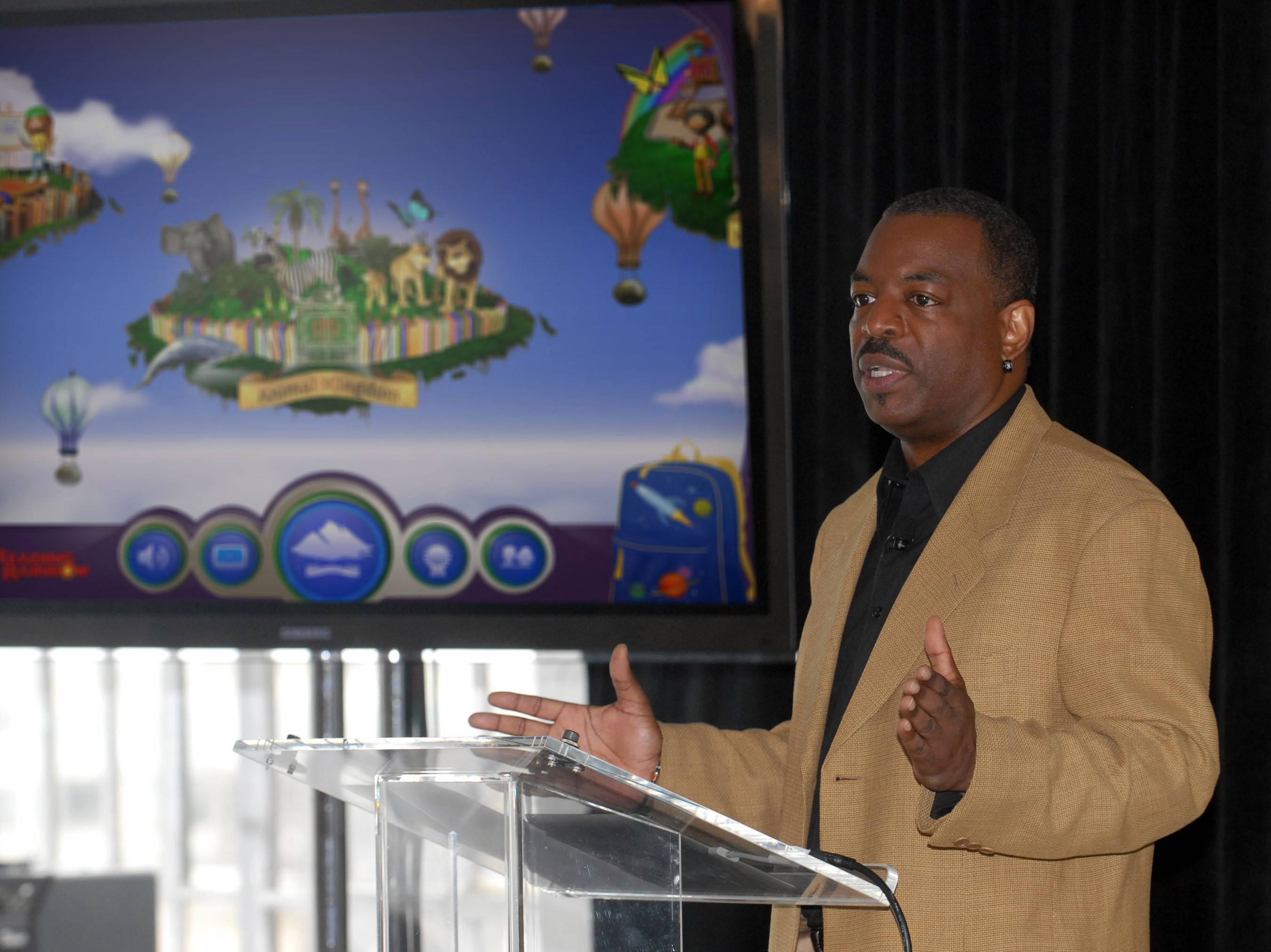 "LeVar Burton's campaign to bring ""Reading Rainbow"" to the online masses is off to an impressive start. It reached its fundraising goal within hours of its launch on Wednesday on Kickstarter, according to the fundraising website."