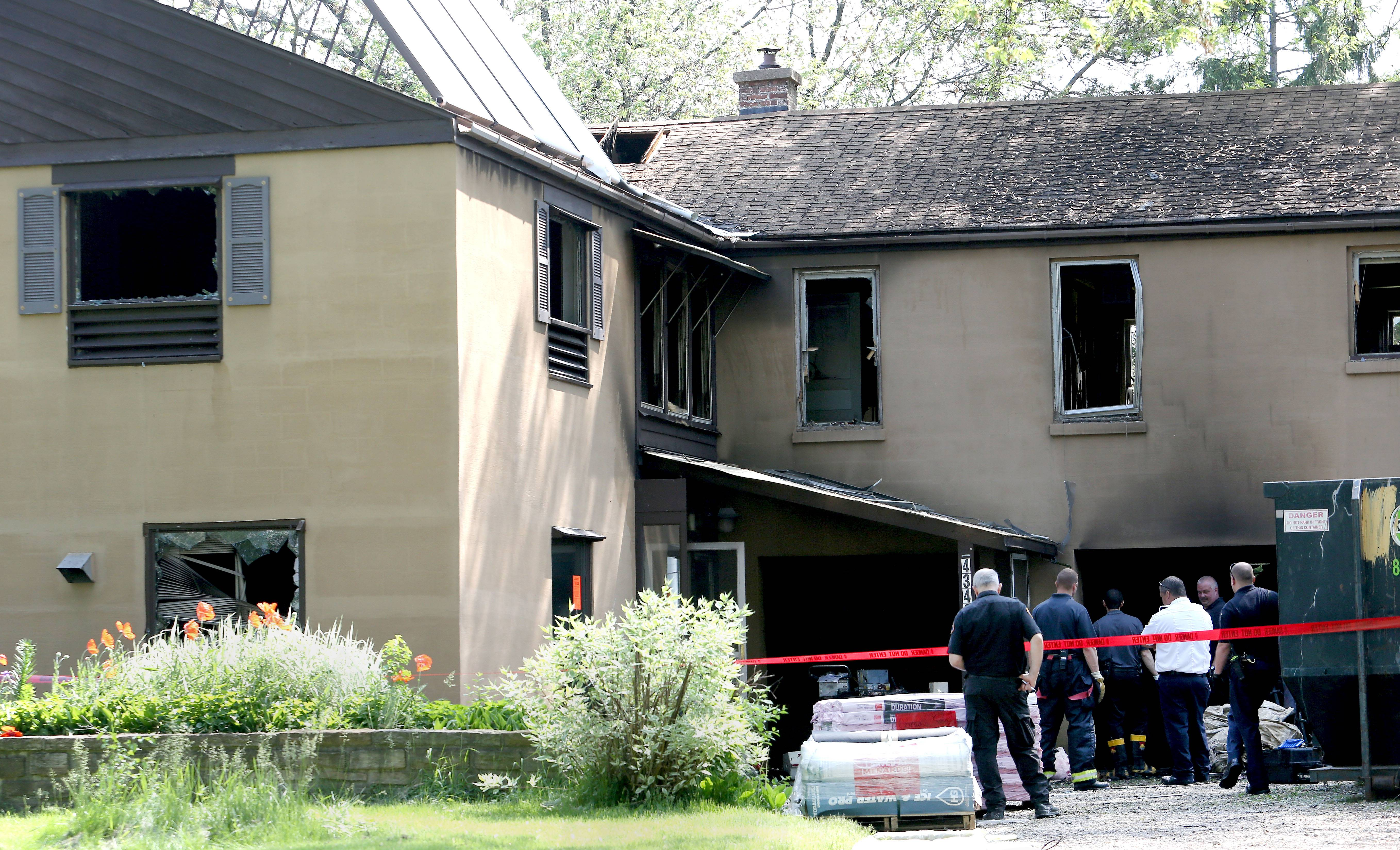 A malfunctioning furnace triggered a fire Thursday morning that swept through a Downers Grove house. No injuries were reported.