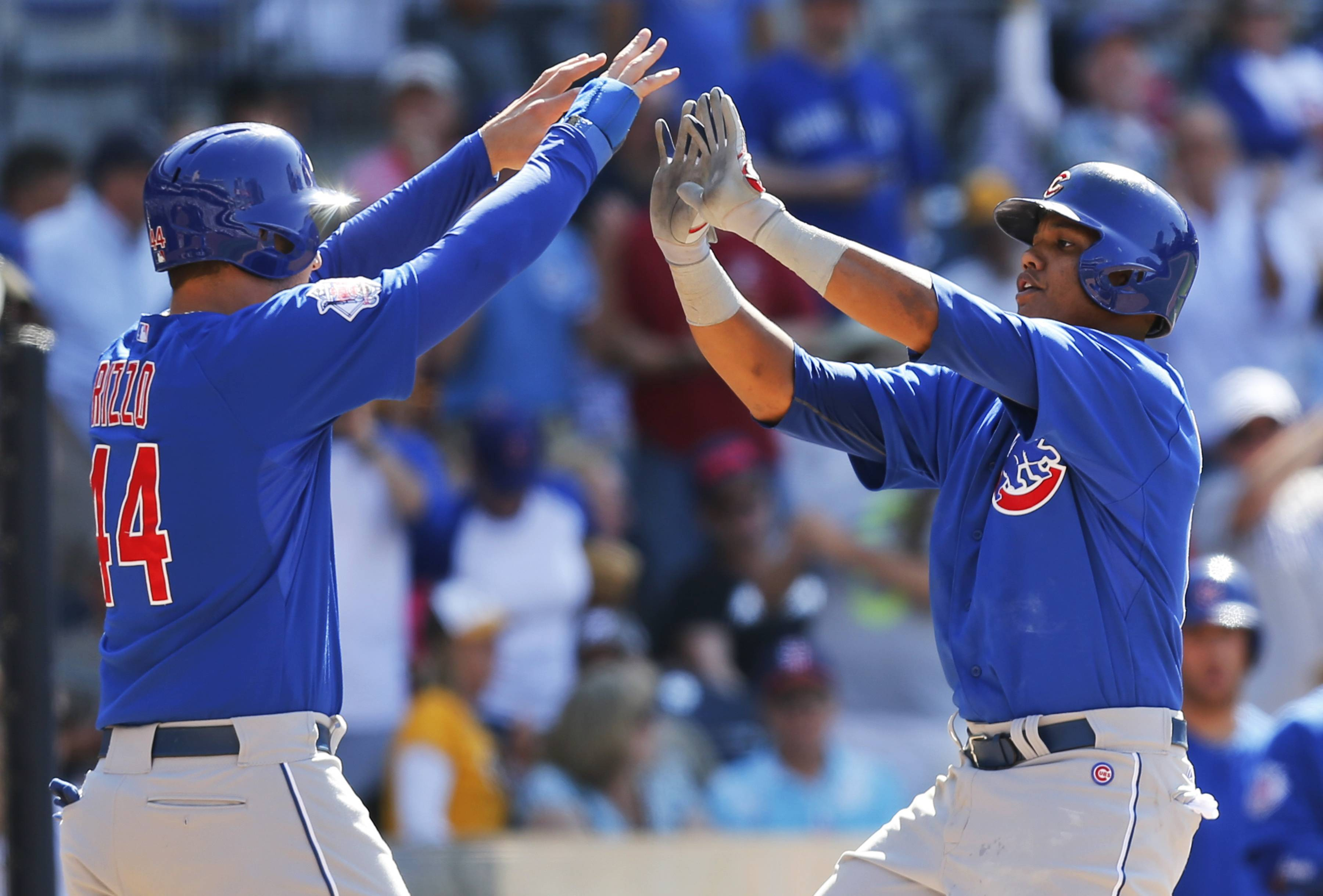 When top players Anthony Rizzo, left and Starlin Castro aren't hitting, it's a struggle for the Cubs to score runs.