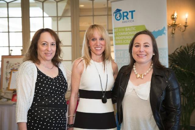 Pictured at ORT America's author program April 27, from left, are: Buffalo Grove residents Susie Rodriquez, raffle co-chairman, and Michele Movitz, executive director of ORT Technical Institute, and Tovah Jacobson of Chicago, an ORT student training to become a certified medical assistant.