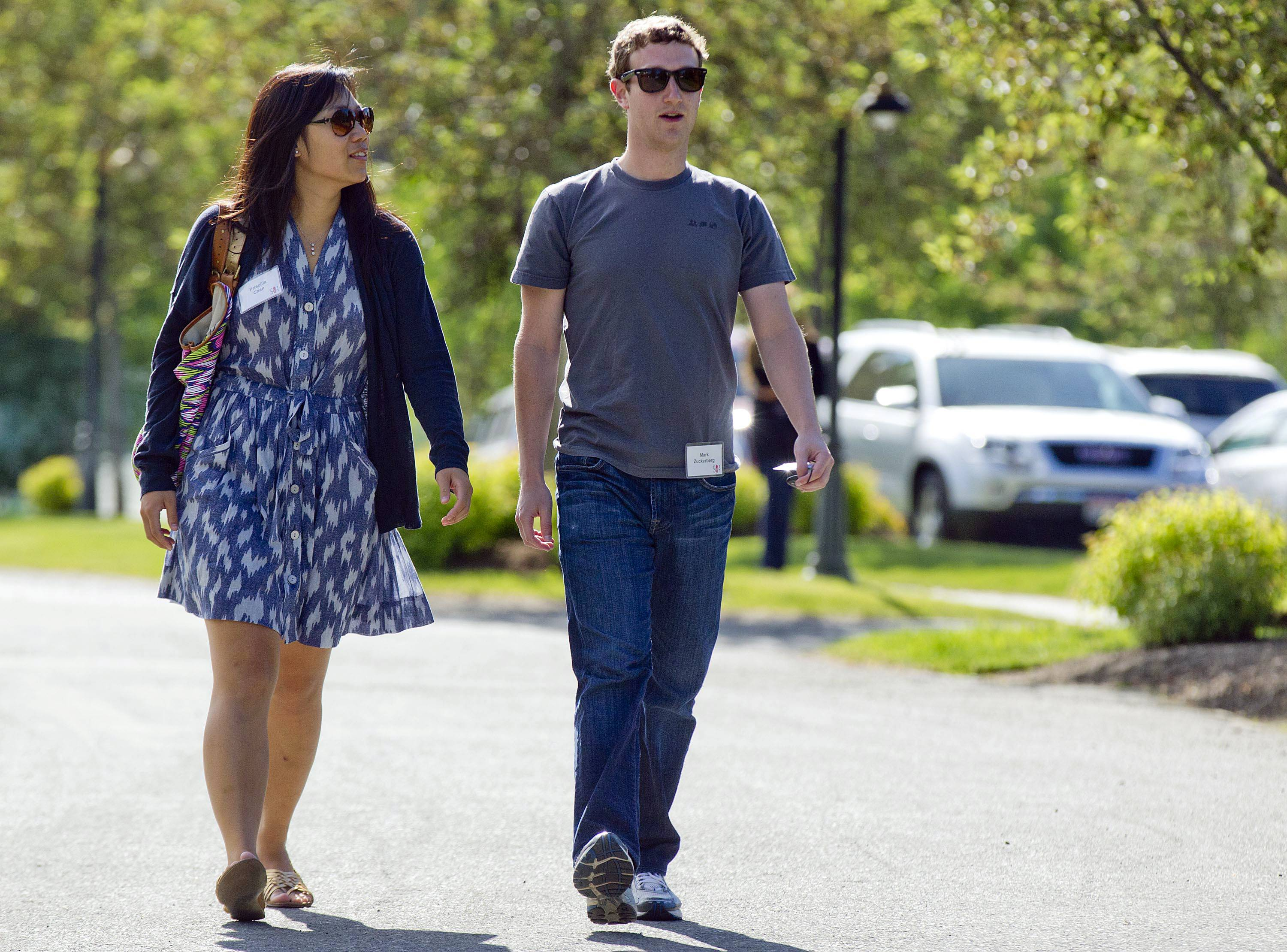 Facebook's Mark Zuckerberg and his wife, Priscilla Chan, announced Thursday May 29, 2014 they are donating $120 million to the San Francisco Bay Area's public school system.