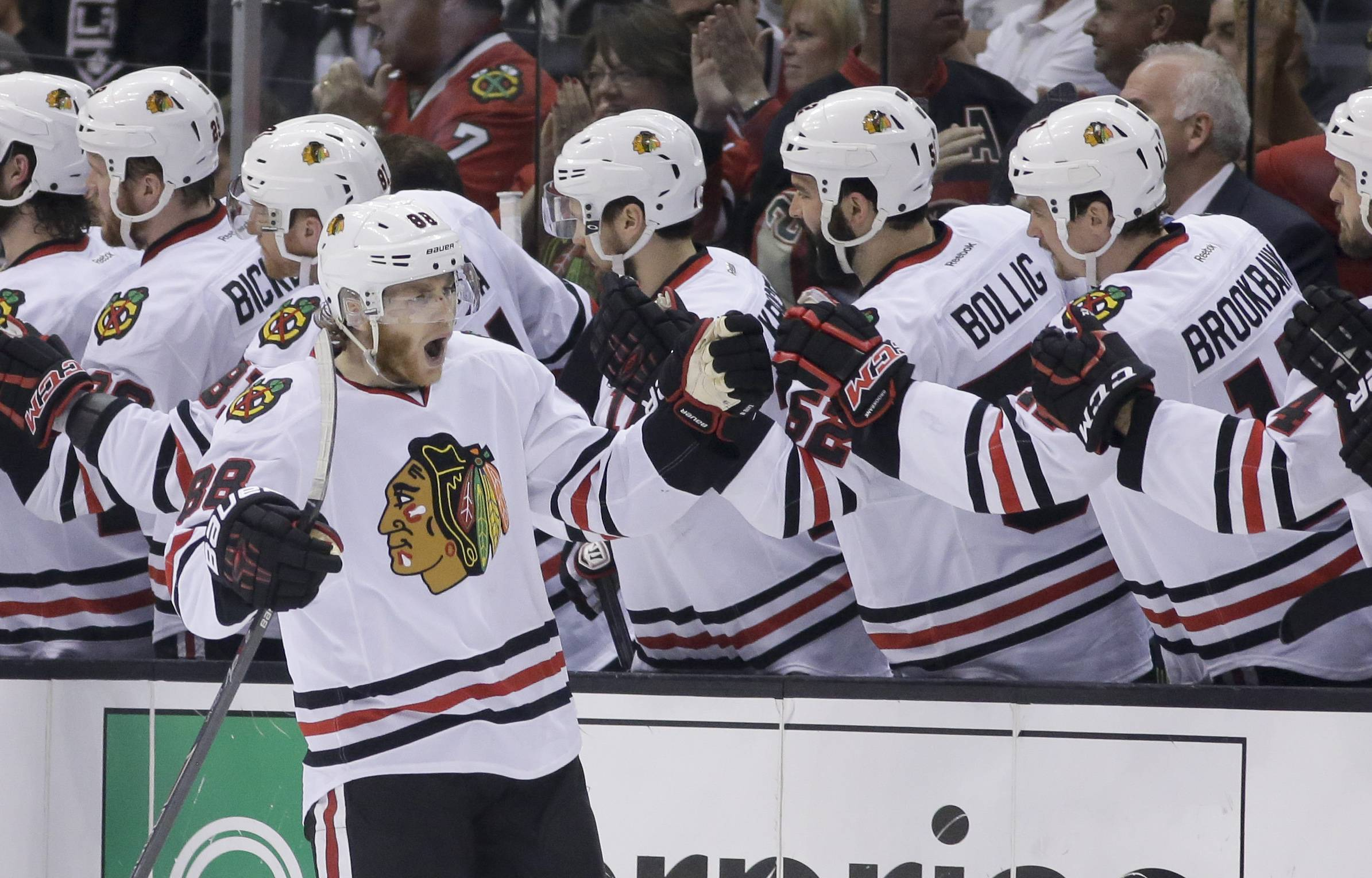 Images: Blackhawks vs. Kings, Game Six