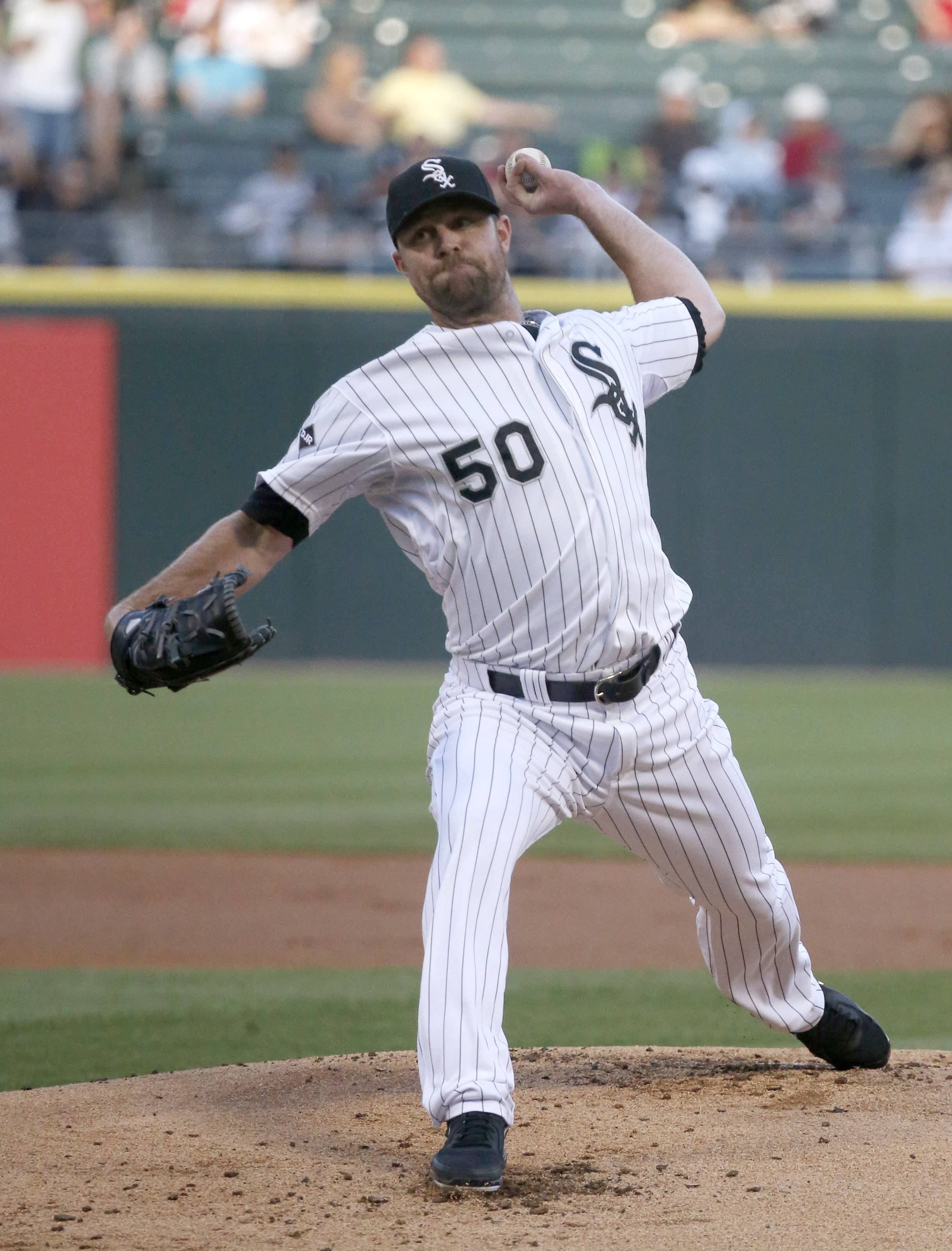 White Sox starter John Danks (3-5) followed an impressive outing against the Yankees with seven effective innings against the Padres. Danks allowed two runs and scattered eight hits. He struck out four and walked one.