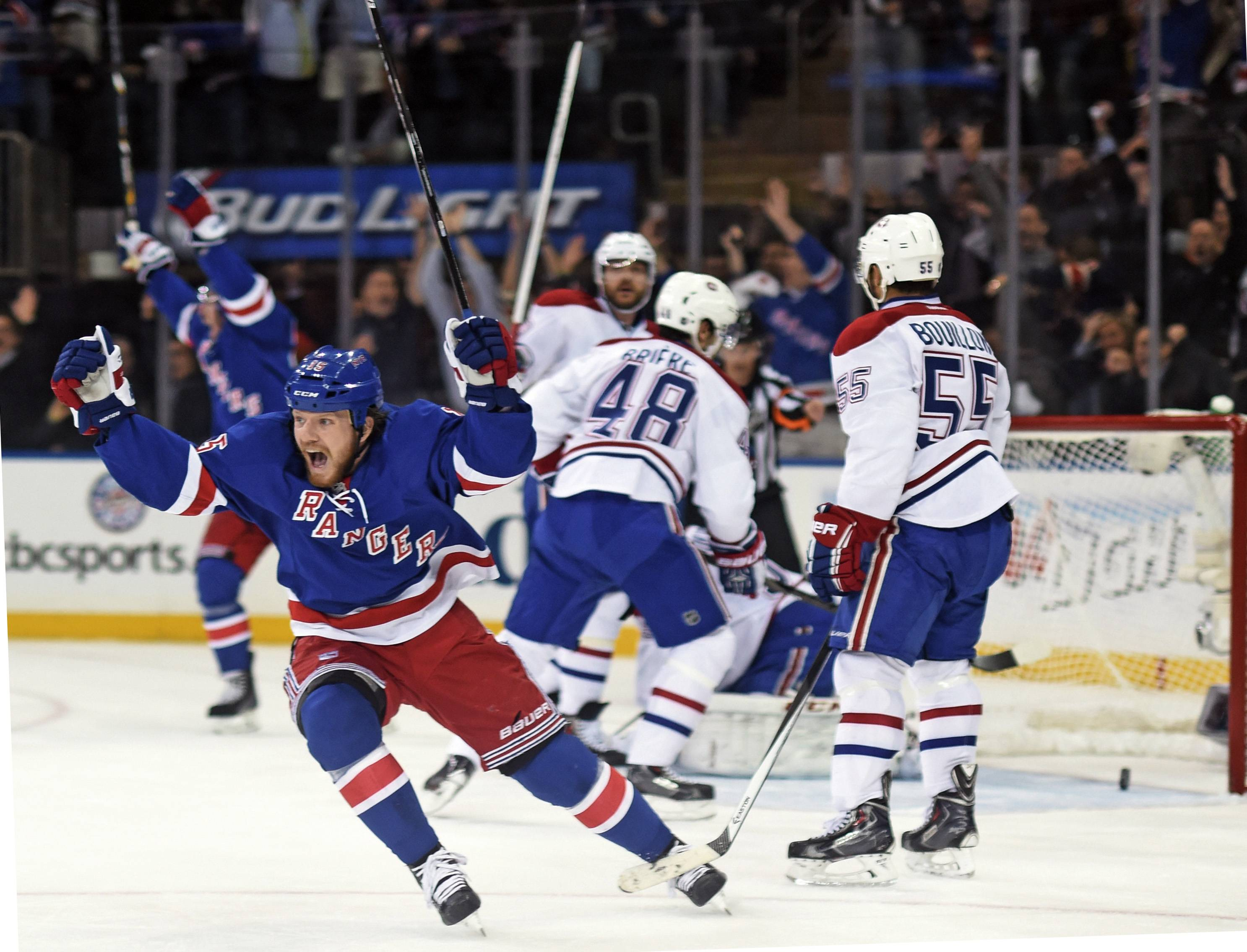 Eight months ago, first-year Rangers coach Alain Vigneault could never have imagined he would now be behind the bench for New York's first Stanley Cup finals appearance in 20 years. The mere suggestion made him laugh Thursday night after the Rangers advanced with a 1-0 victory over the Montreal Canadiens in Game 6 of the Eastern Conference finals,