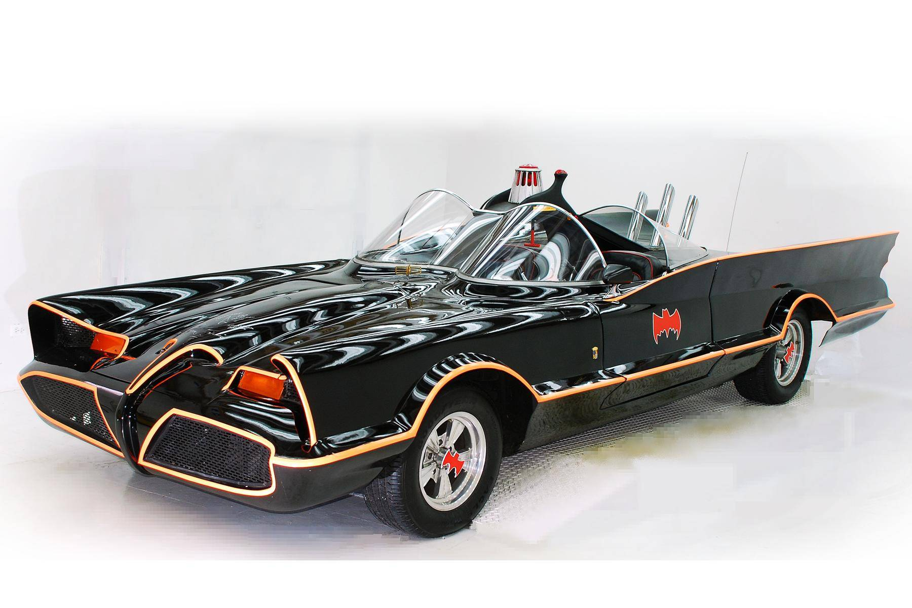 the Volo Auto Museum will bring its Batmobile to the June 18 Cruise night at Randhurst Village in Mount Prospect.