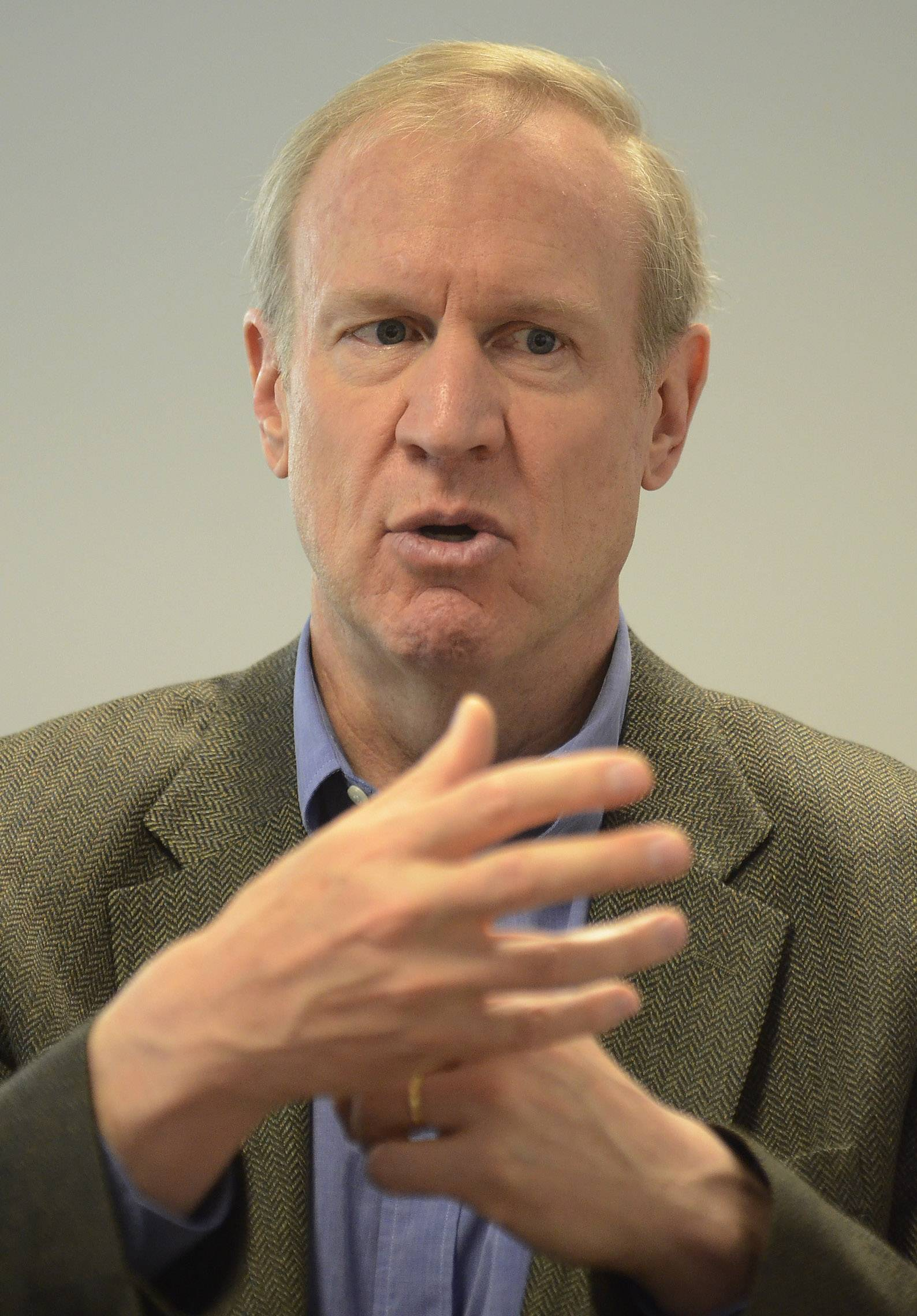 GOP governor candidate Bruce Rauner