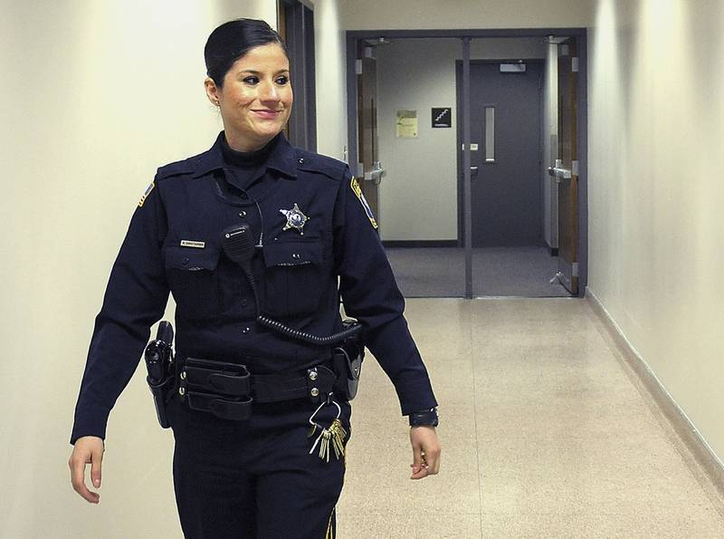 Niu Officer Patrols Campus Where She Was Wounded
