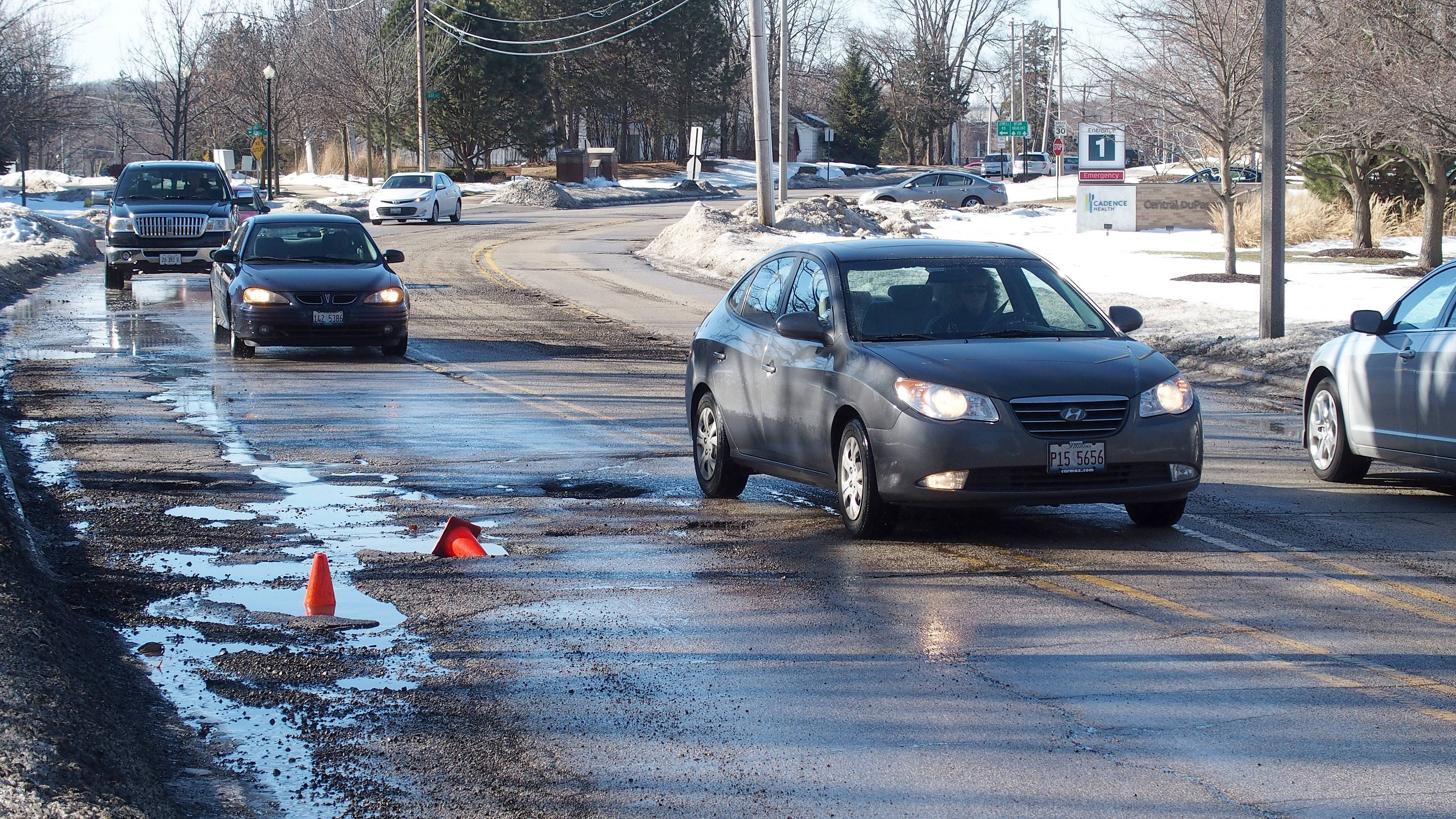 Back in January, there were potholes on Jewell Road in Winfield. Now Jewell and numerous other streets are scheduled for repairs as part of Winfield's multimillion-dollar road program for 2014. Work already has begun on neighborhood streets.