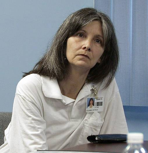 Convicted murder Patty Columbo goes before the parole board a the Dwight Correctional Center in 2007.
