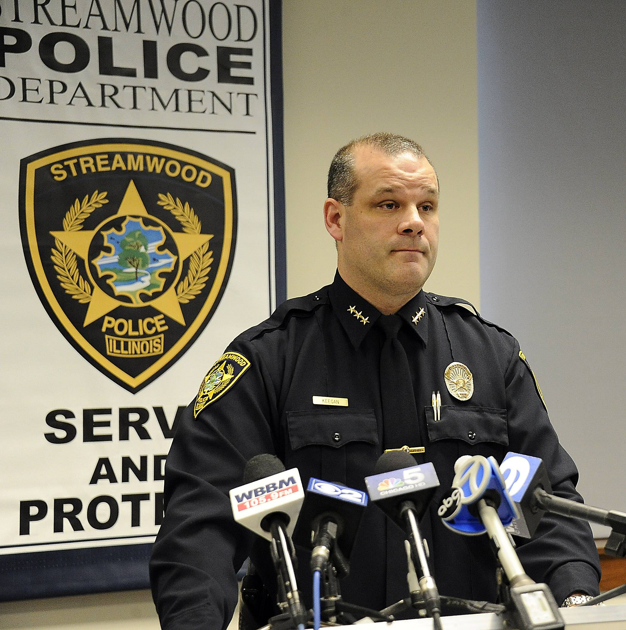 Streamwood Police Chief James Keegan.
