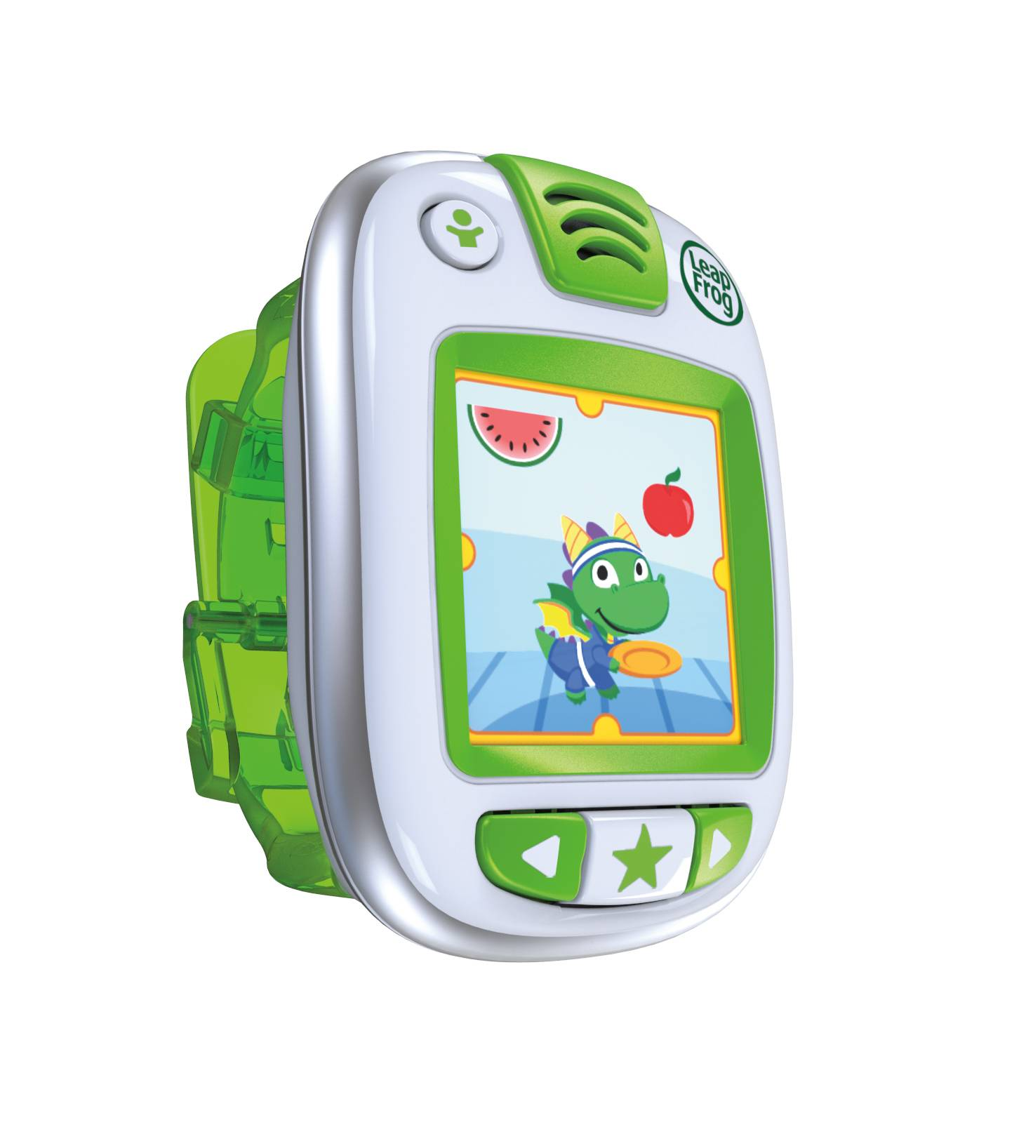 This product image provided by LeapFrog shows the LeapBand.