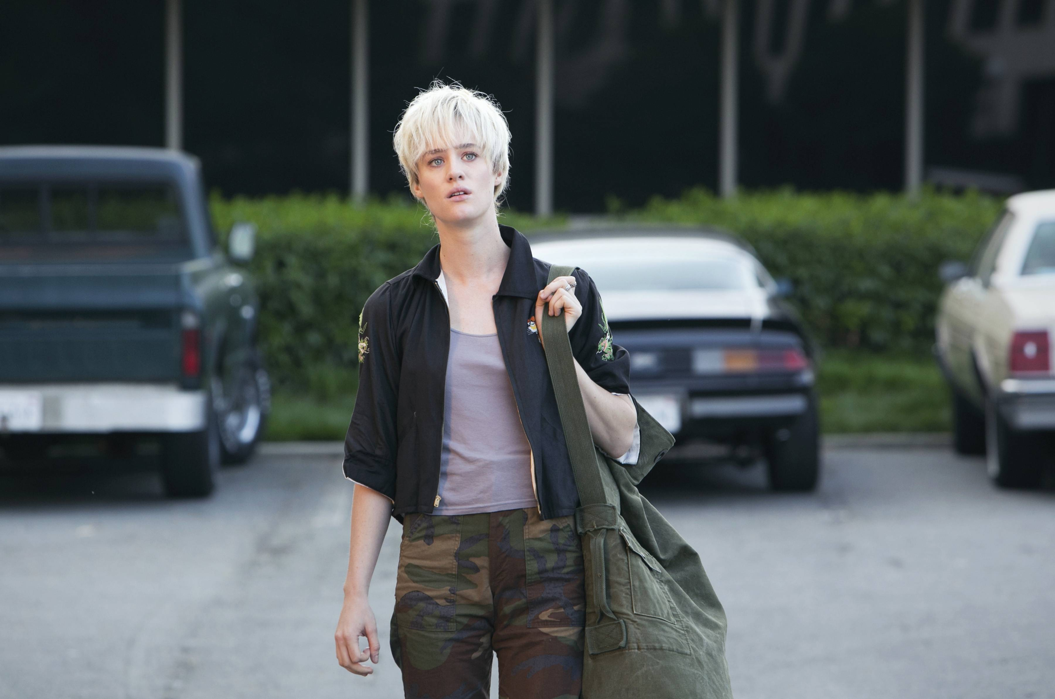 "Associated Press/AMCThis photo released by AMC shows Mackenzie Davis as Cameron Howe in a scene from the television series, ""Halt and Catch Fire,"" season 1. The drama, which debuts Sunday, June 1, 2014, is set during the 1980s race to develop and market personal computers."