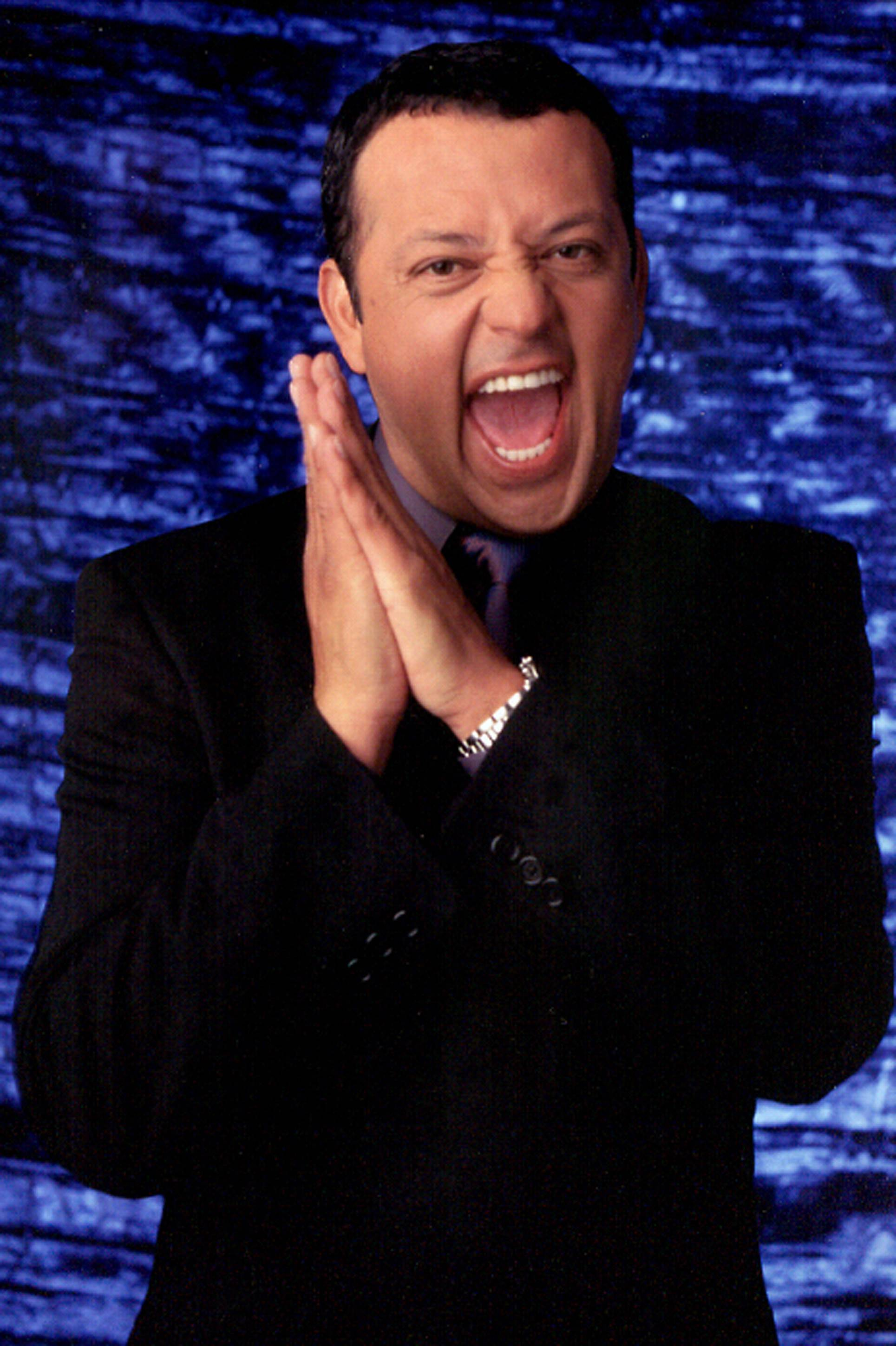 Comedian and actor Paul Rodriguez performs at the Improv Comedy Showcase in Schaumburg.
