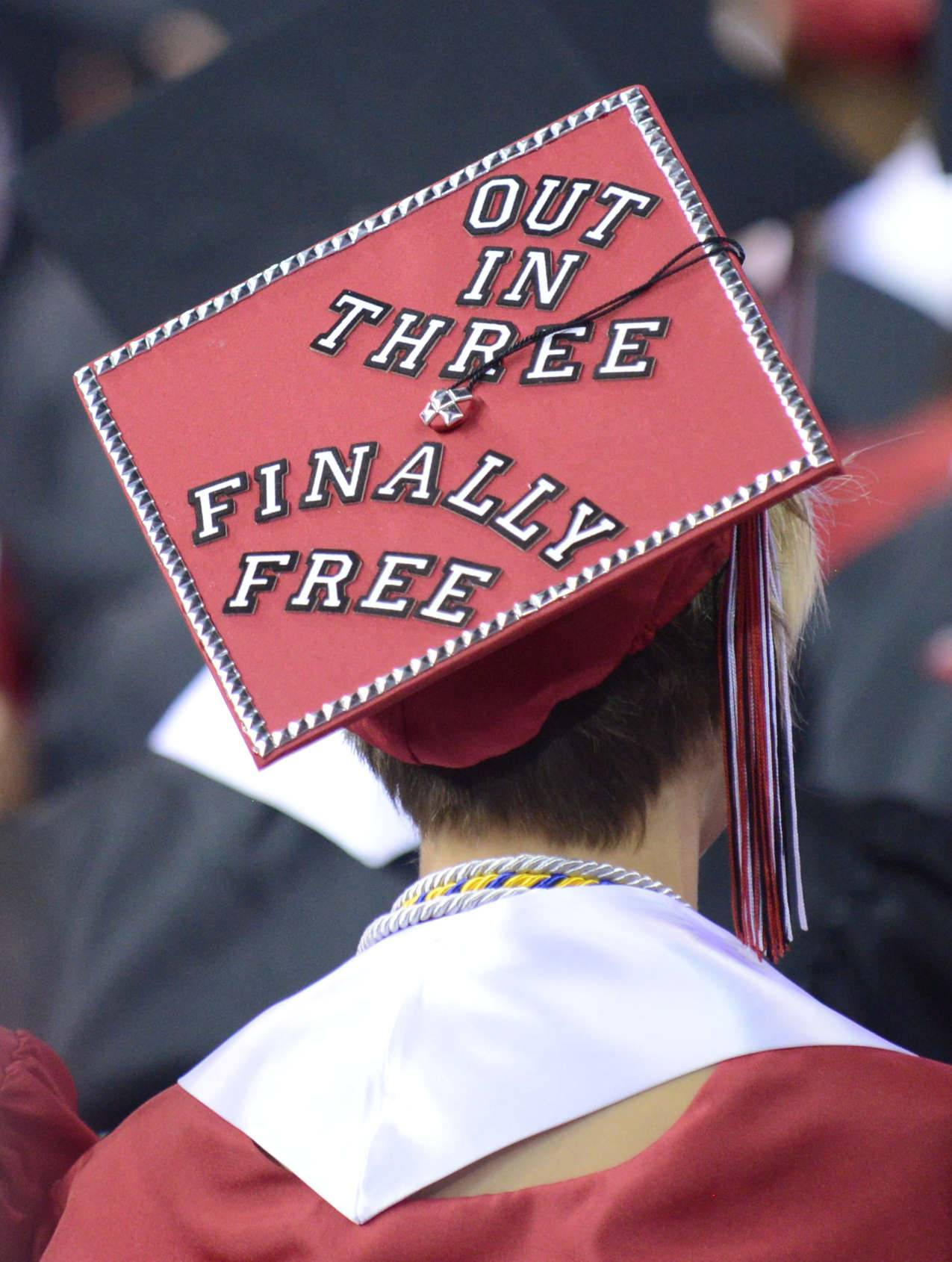 Images from the Huntley High School graduation ceremony on Saturday, May 31st, at the Sears Centre in Hoffman Estates.
