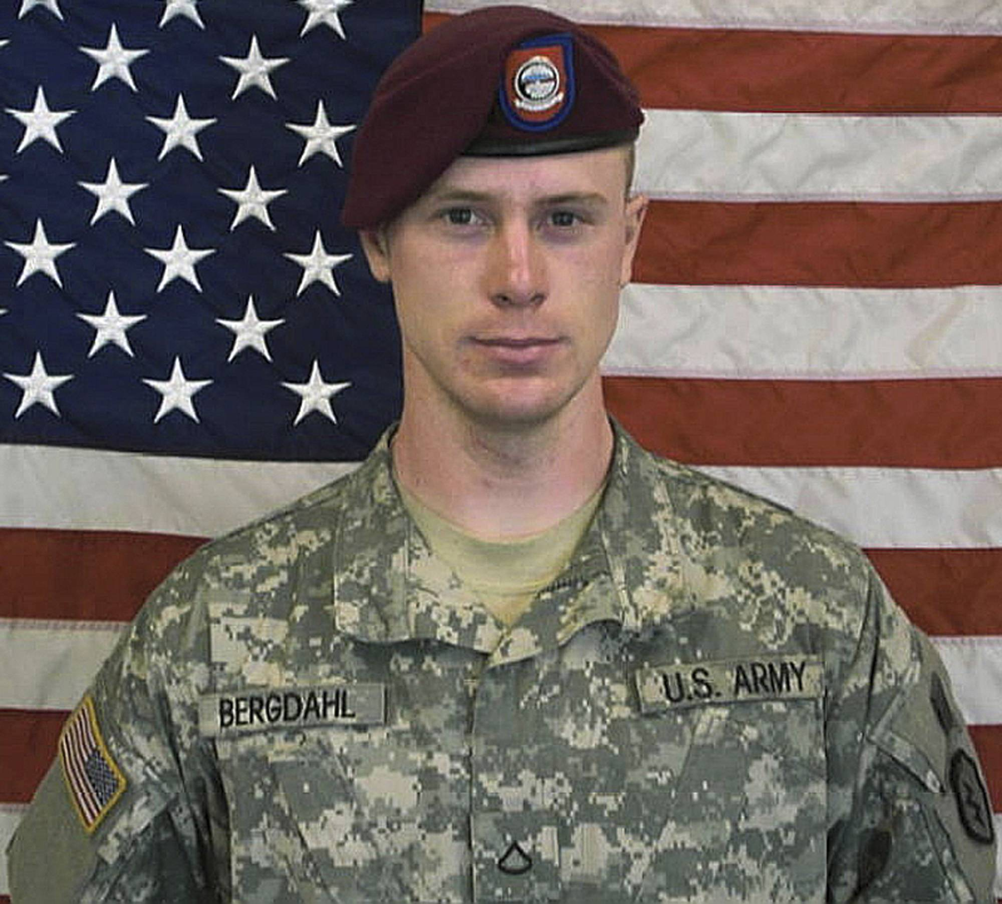 The U.S. Army shows Sgt. Bowe Bergdahl.
