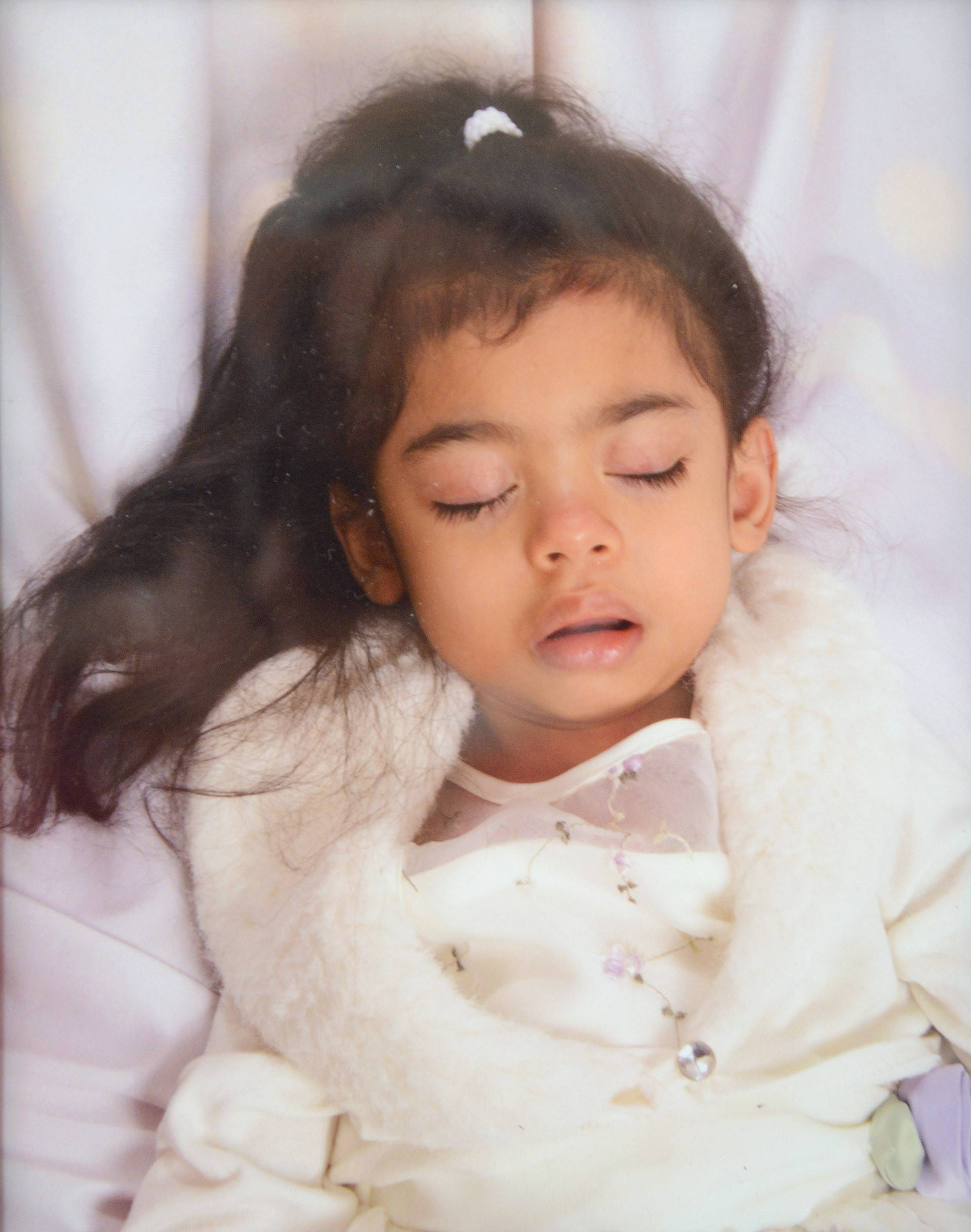 Joselyn Huerta in a 2008 photo at age 7. A genetic nerve disorder would take her life in 2013 at age 12.
