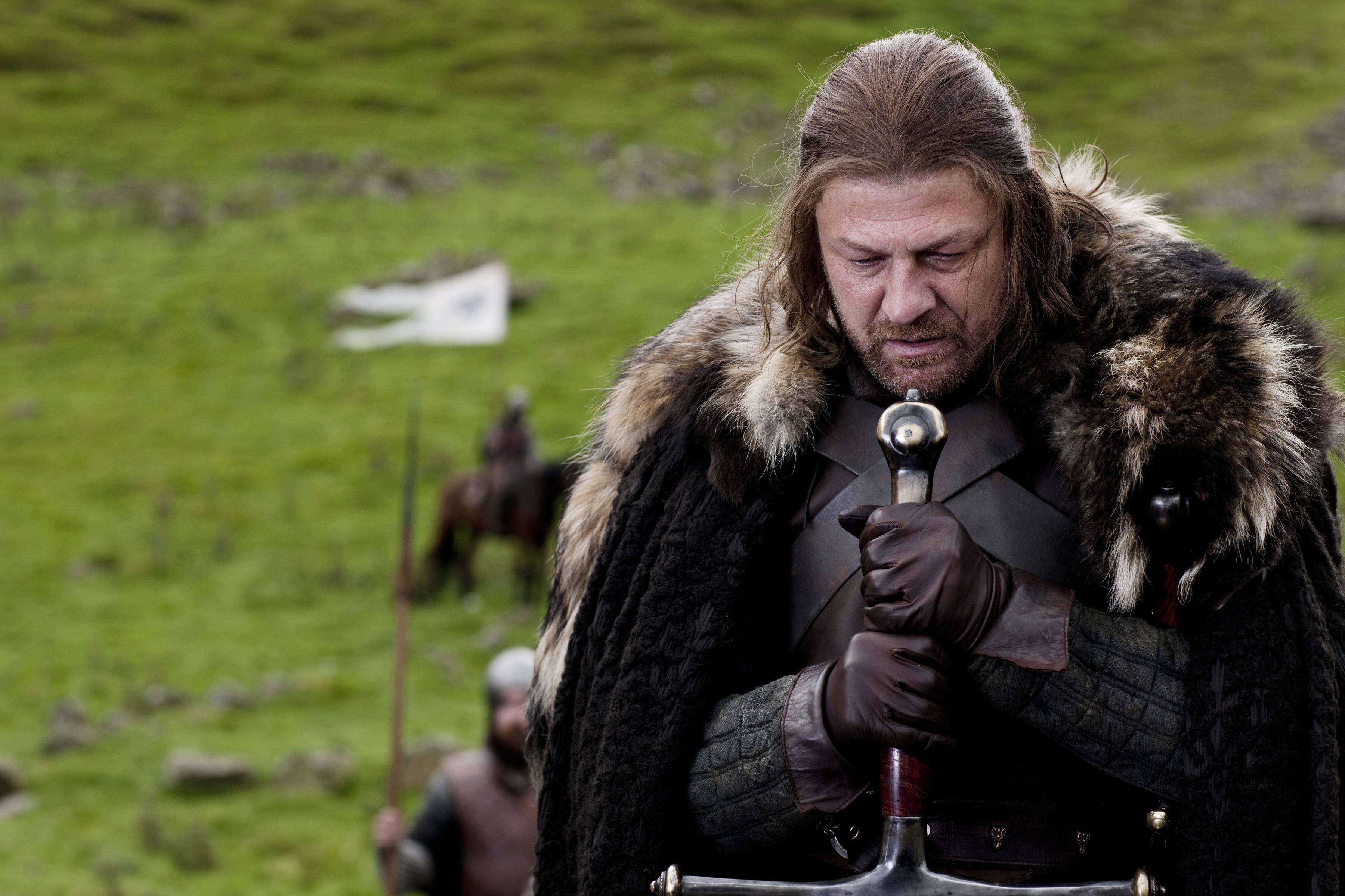 "Lord Eddard ""Ned"" Stark (Sean Bean) was a character who bonded viewers together and showed us what we expected was wrong in season 1 of HBO's ""Game of Thrones."""