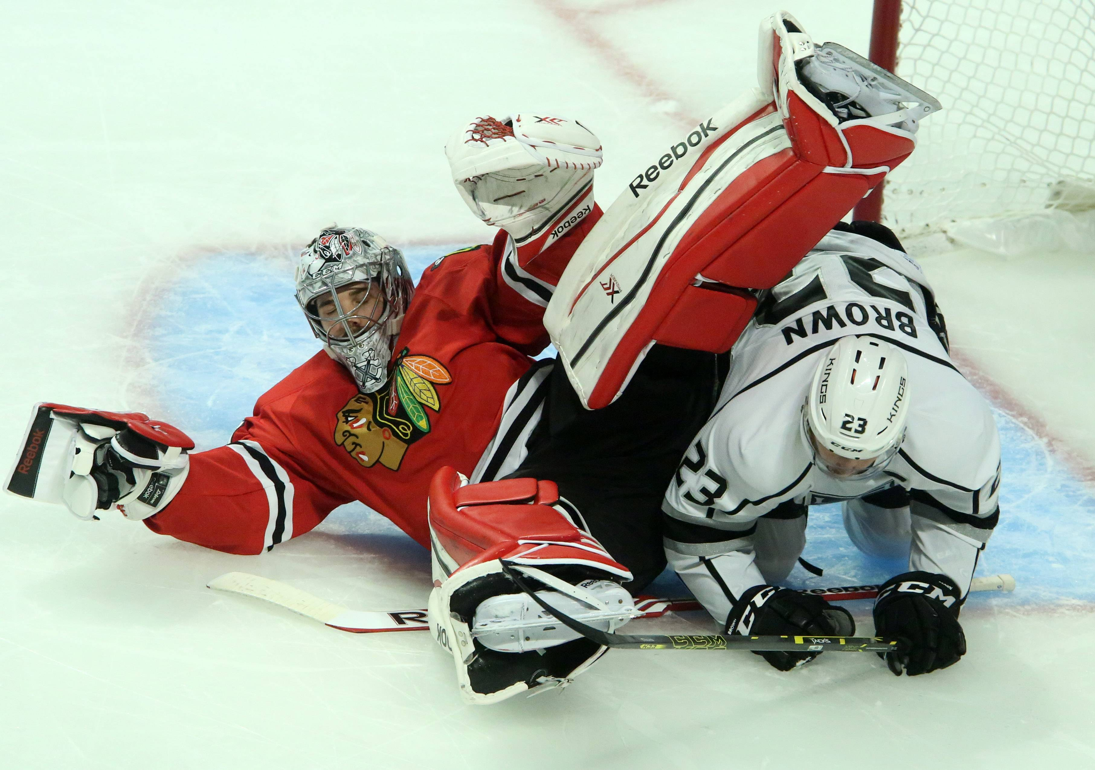 Blackhawks' road to repeat hits dead end