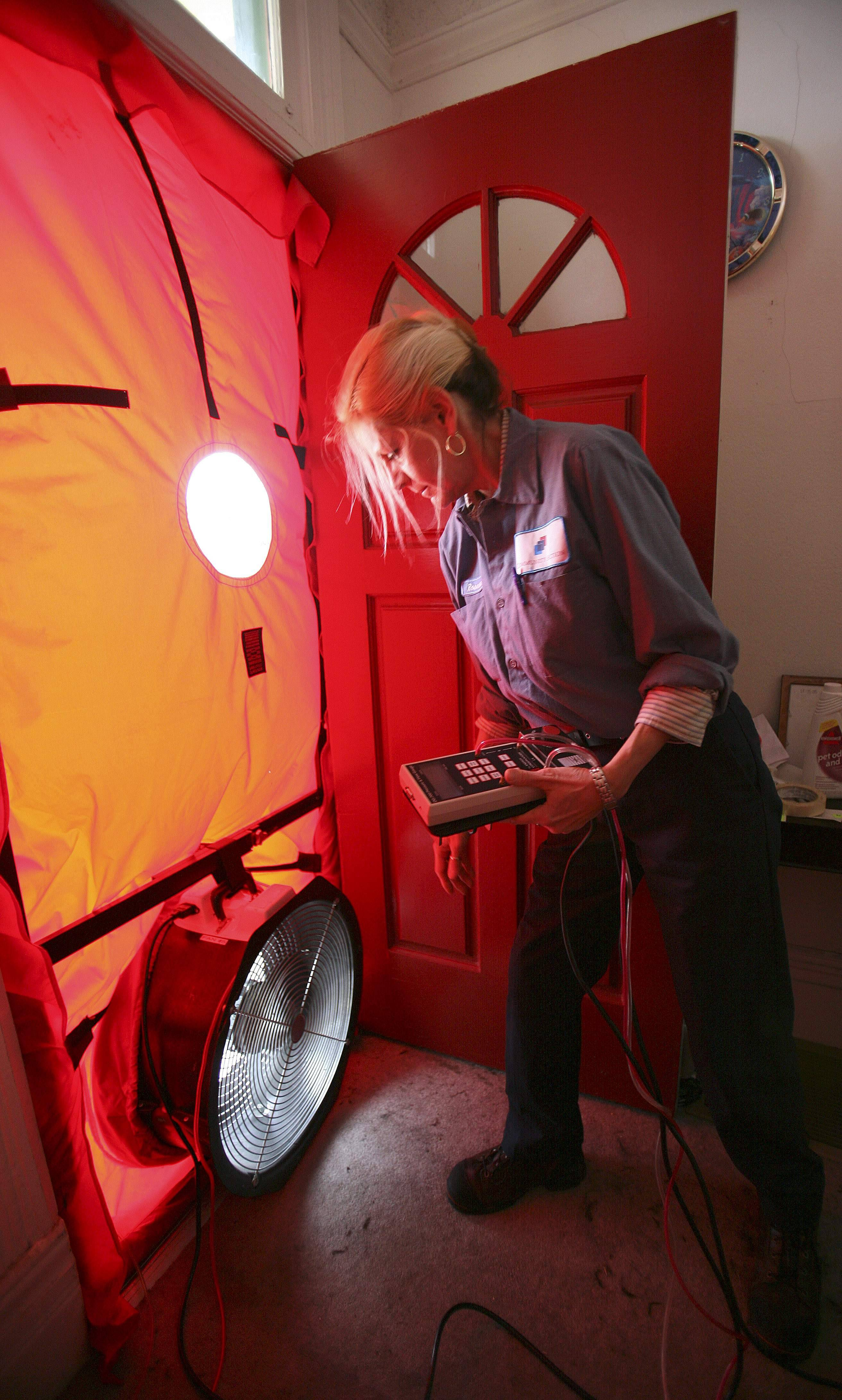 Roseann Mitchell of the Community Action Agency checks airflow readings as part of a blower door test assessment in San Francisco. Electricity prices are expected to rise faster this year than they have since 2009, to a record average of 12.5 cents per kilowatt-hour, according to the Energy Department. And prices are highest in the summer, just when you need more power to run the air conditioner.