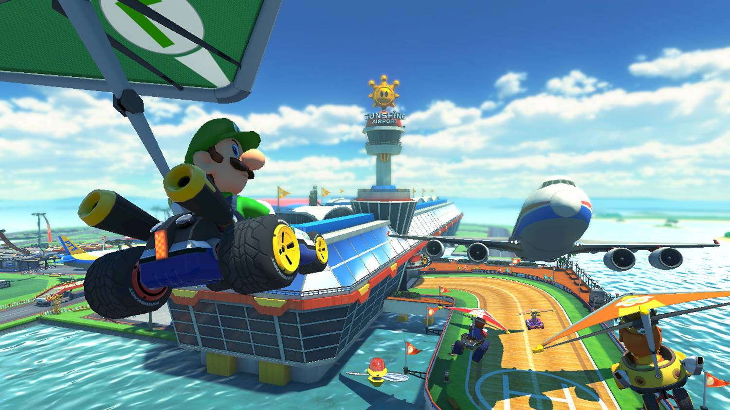 "Kids of all ages will enjoy the chaos that is ""Mario Kart 8."""