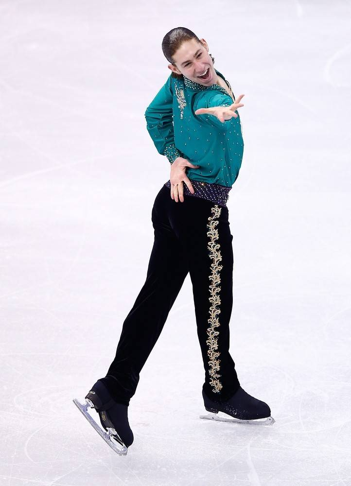 "Highland Park native and Olympic bronze medal winner Jason Brown is featured in American Ice Theatre's ""Let's Dance"" at the McFetridge Sports Center in Chicago Saturday, May 31."