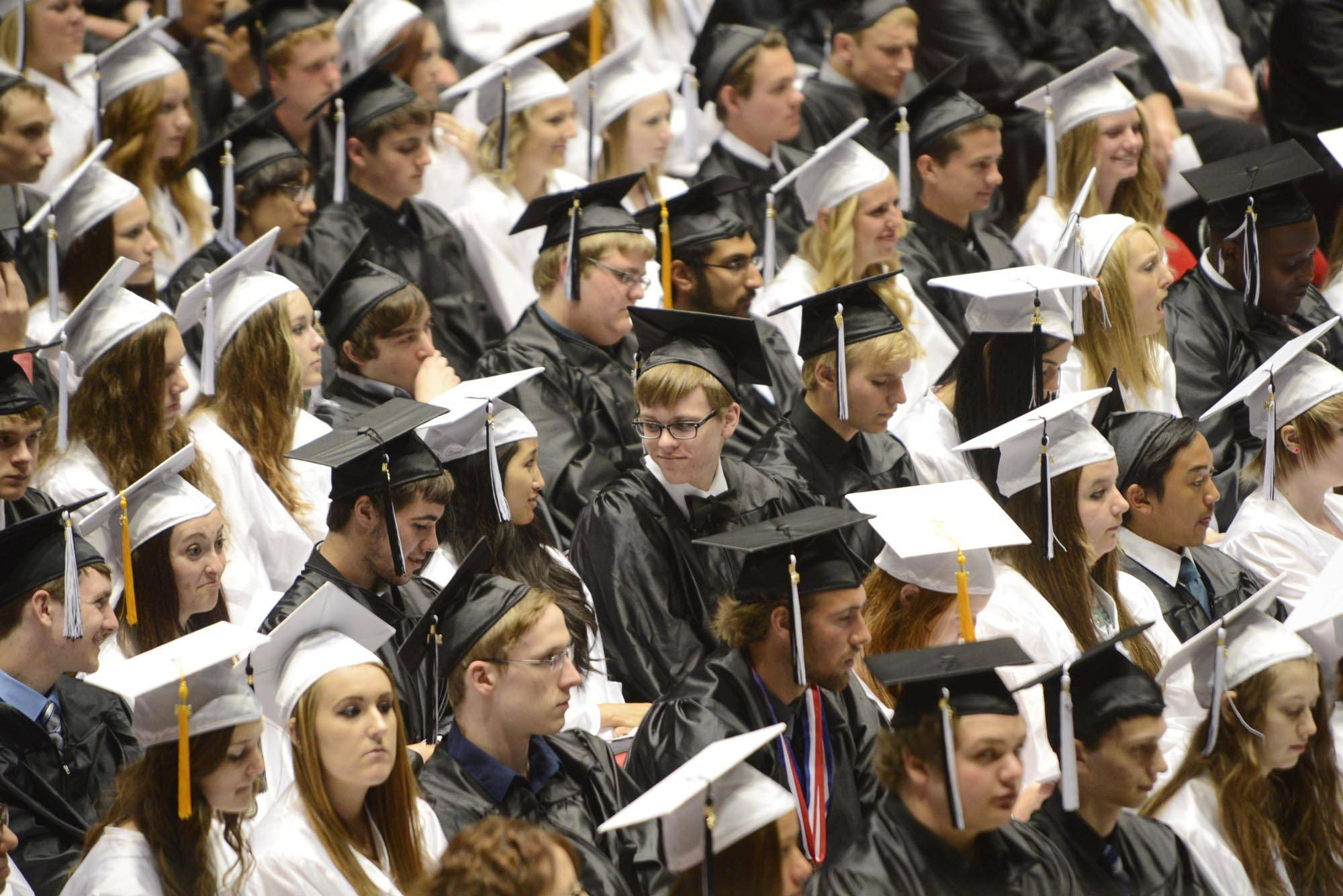 Images from the Kaneland High School graduation on Sunday, June 1st, in DeKalb.