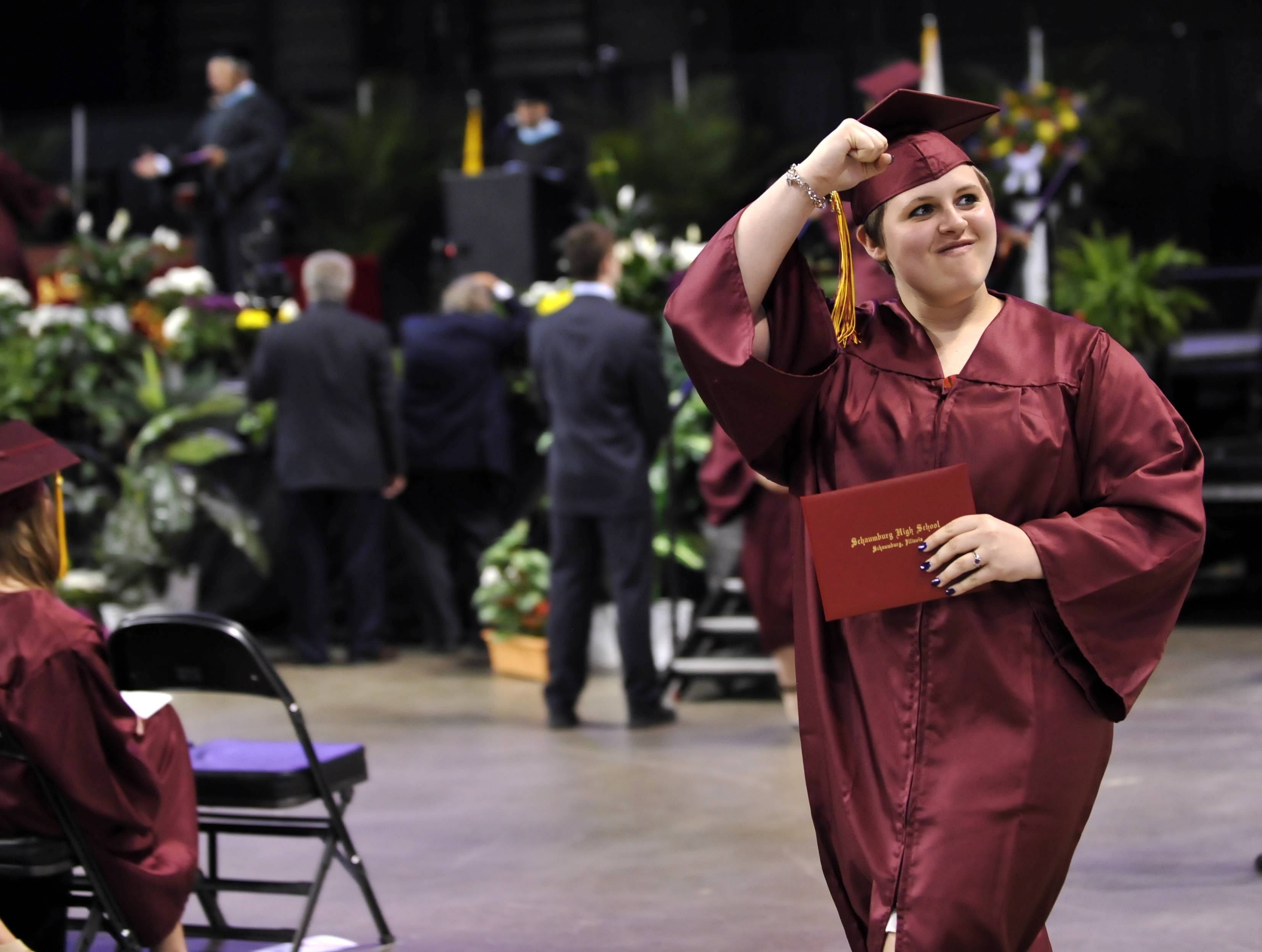 Photos from the Schaumburg High School graduation on Sunday, June 1, at the Sears Centre.